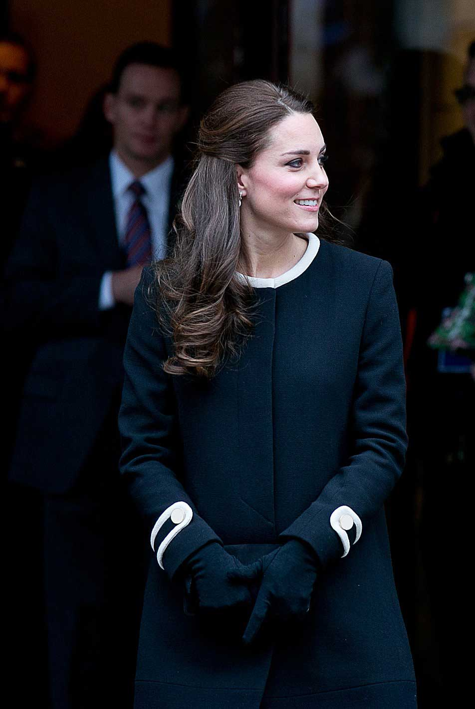 Catherine, Duchess of Cambridge at the Northside Center for Child Development in Harlem, New York on Dec. 8, 2014.