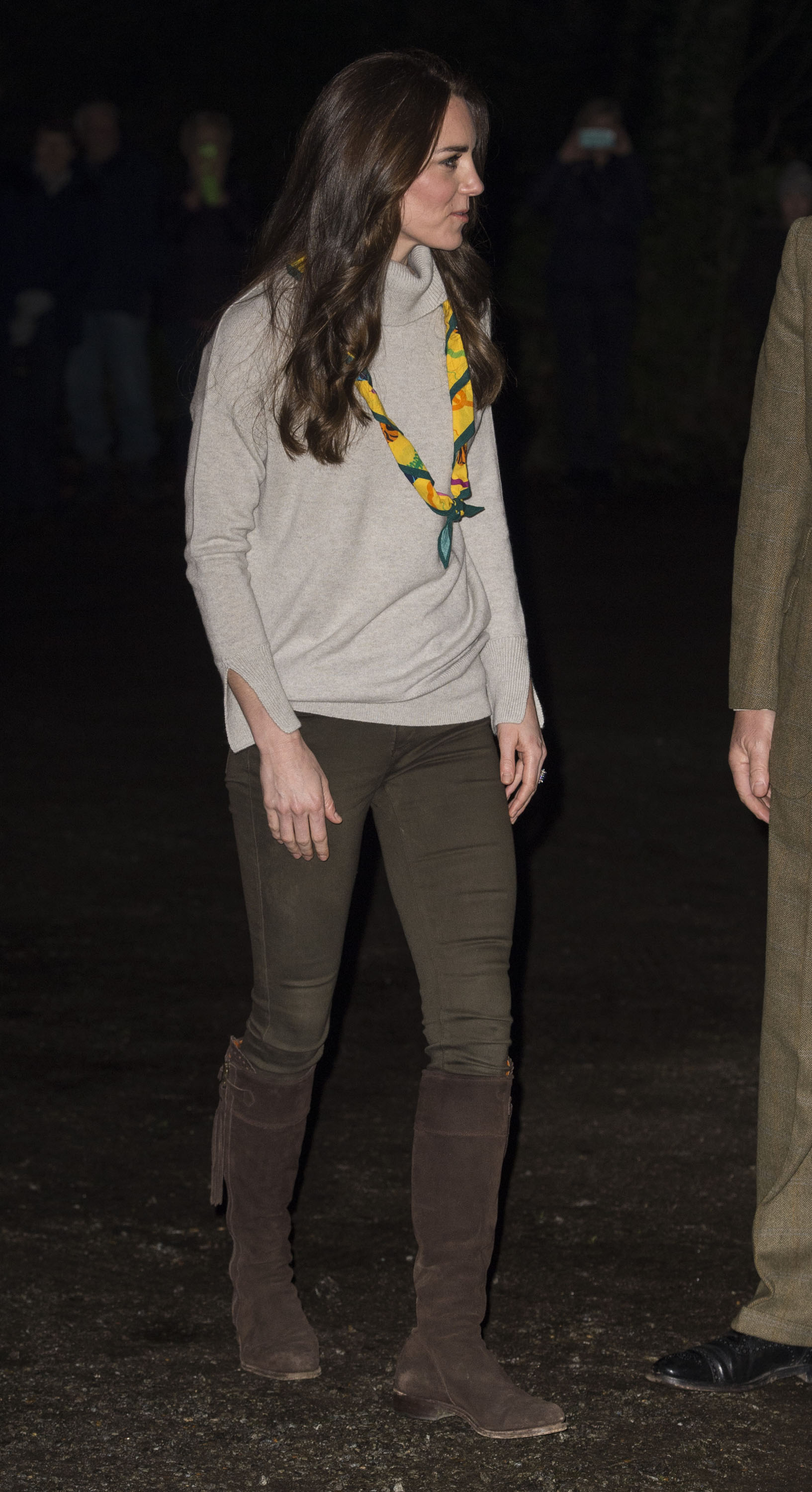 Catherine, Duchess of Cambridge during an official visit to a Cub Scout Pack Meeting to celebrate 100 years of Cubs in King's Lynn, England, on Dec. 14, 2016.