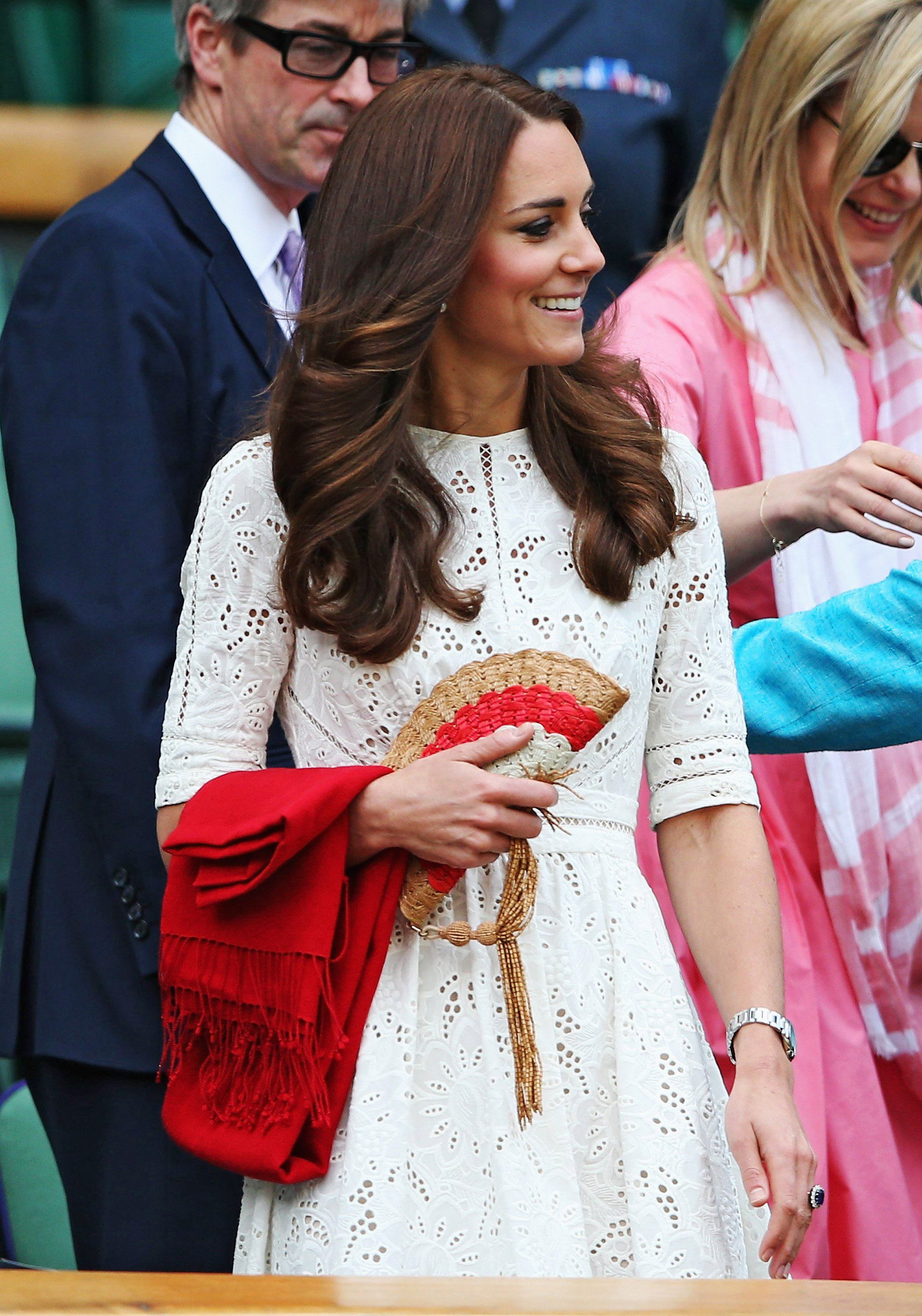 Catherine, Duchess of Cambridge attends day nine of the Wimbledon Lawn Tennis Championships at the All England Lawn Tennis and Croquet Club at Wimbledon on July 2, 2014 in London.