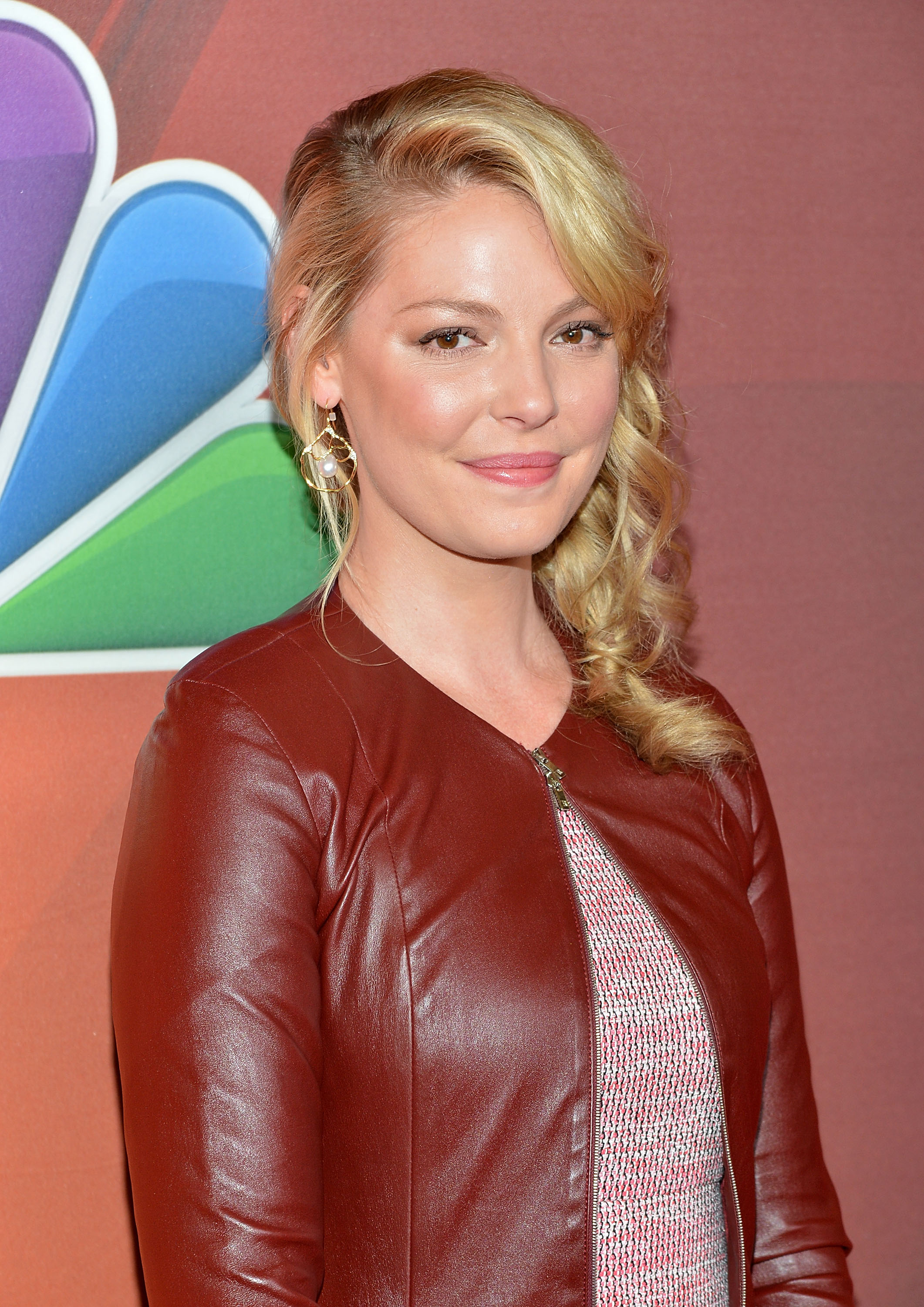 Actress Katherine Heigl attends the 2014 NBC Upfront Presentation at The Jacob K. Javits Convention Center on May 12, 2014 in New York City.
