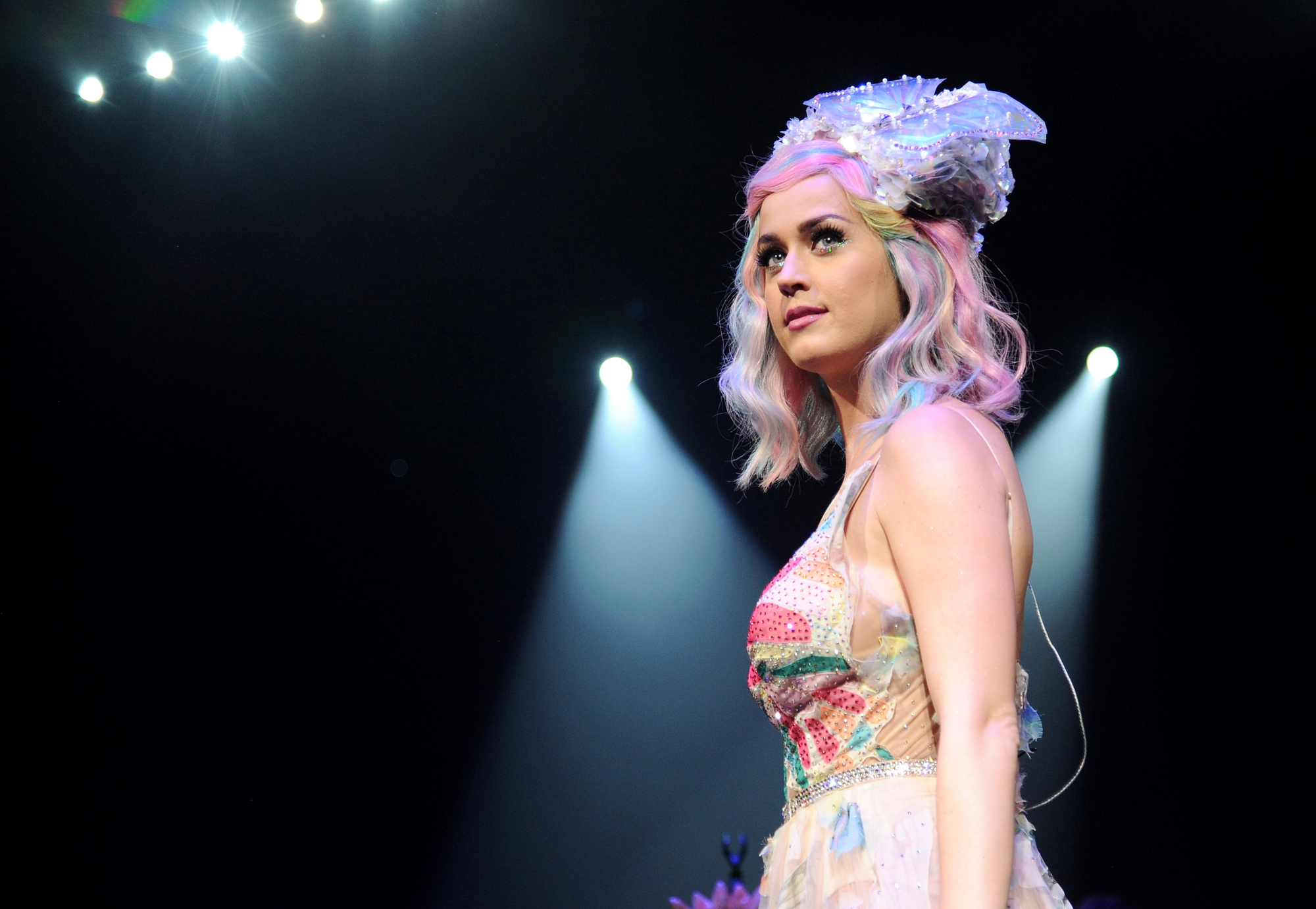 Katy Perry performs onstage during  The Prismatic World Tour  at the Verizon Center on June 24, 2014 in Washington, DC.