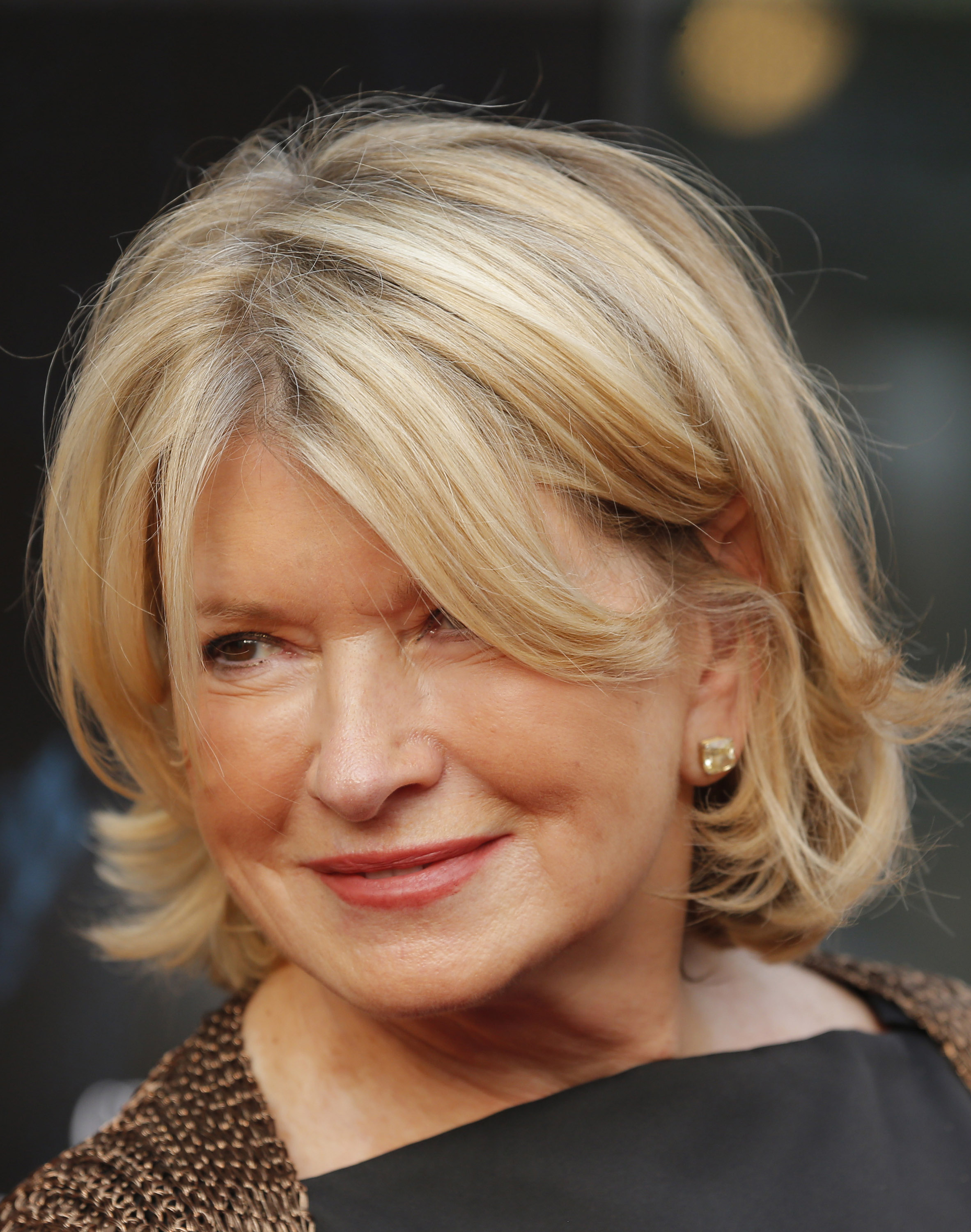 Martha Stewart attends the  Get On Up  premiere at The Apollo Theater on July 21, 2014 in New York City.