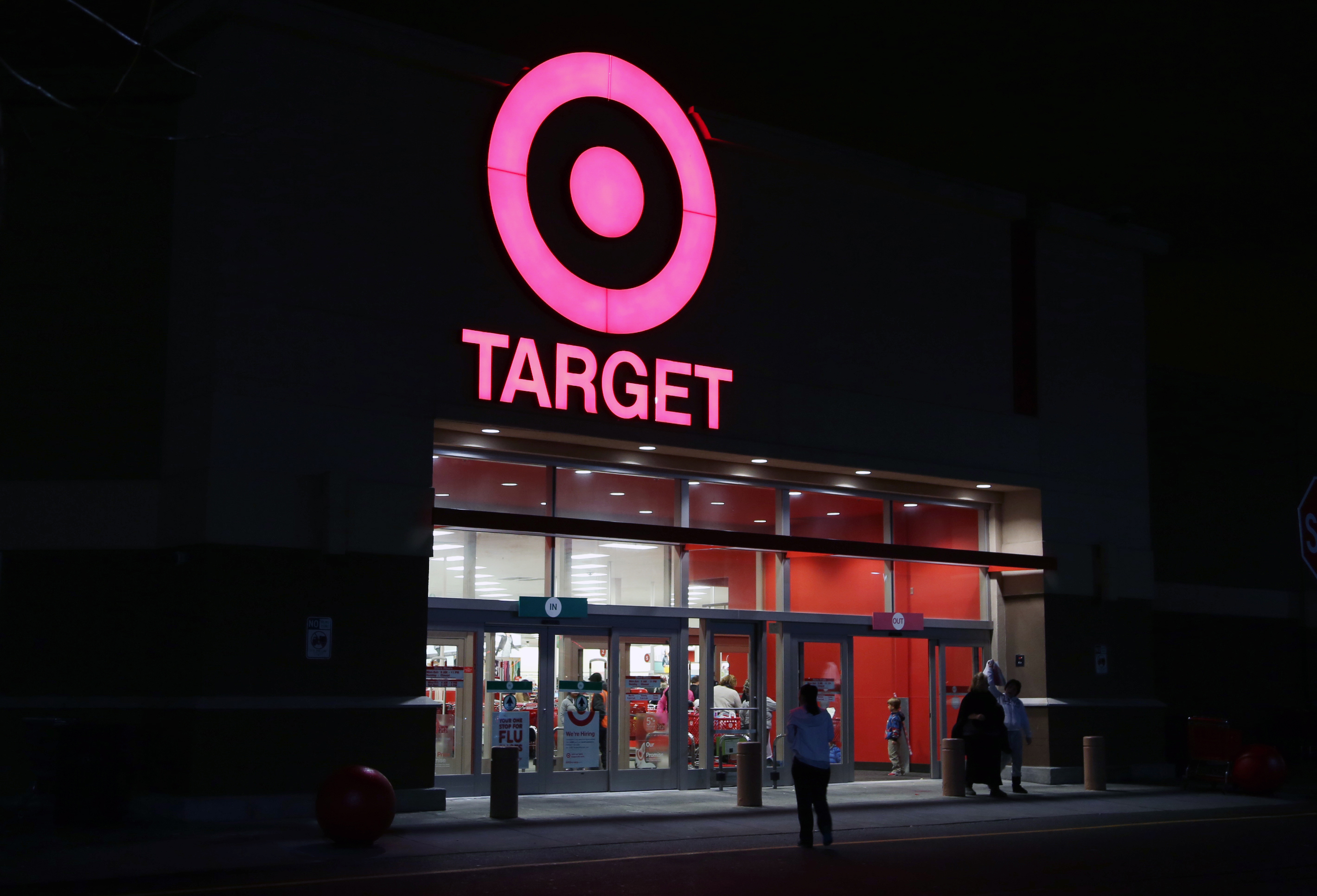 A New York City Target during the period of December 15, 2013, to December 17, 2013, when the credit card information of 40 million customers who shopped at the retailer were stolen.