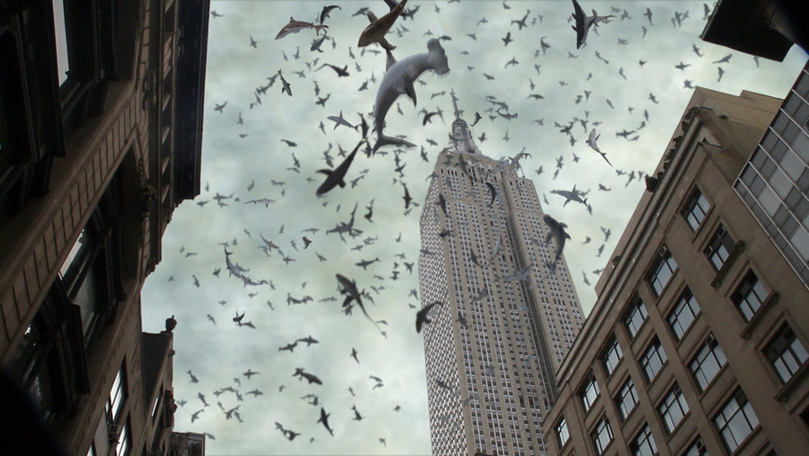 Sharknado 2: Is TV jumping the shark, or are sharks jumping the TV?