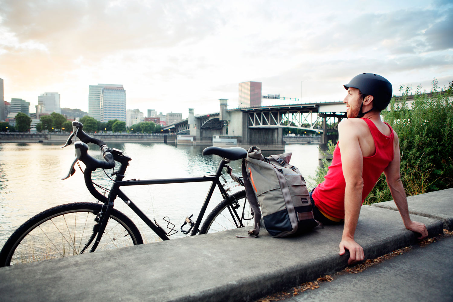 <strong>Portland, Ore.</strong>                                   Best Place for a Healthy Environment</em>                                   Small, walkable neighborhoods, 300 miles of bike paths, and urban policies that foster active living and sustainability make for one clean, green city.
