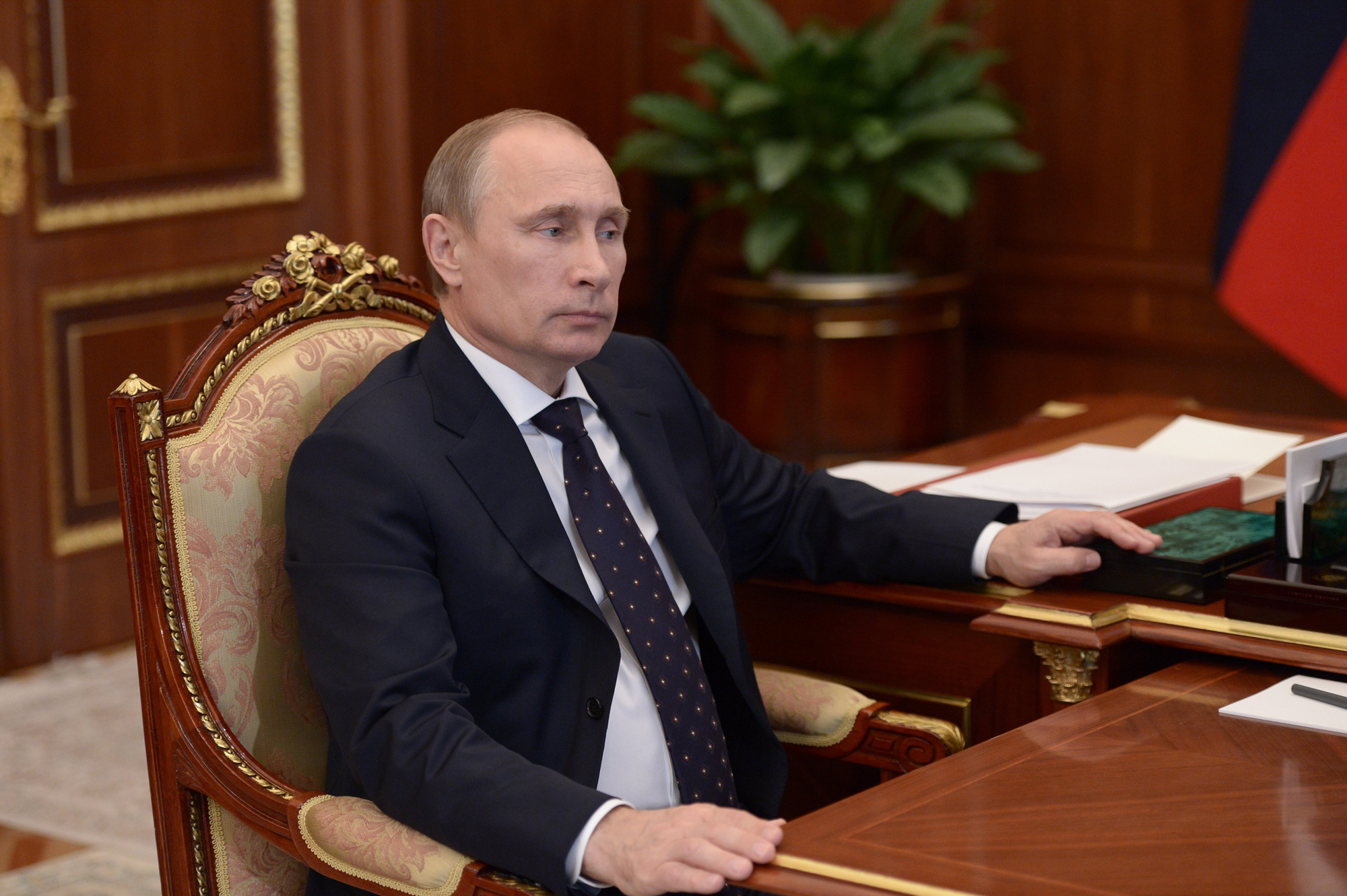 President Vladimir Putin in Kremlin, July 4.