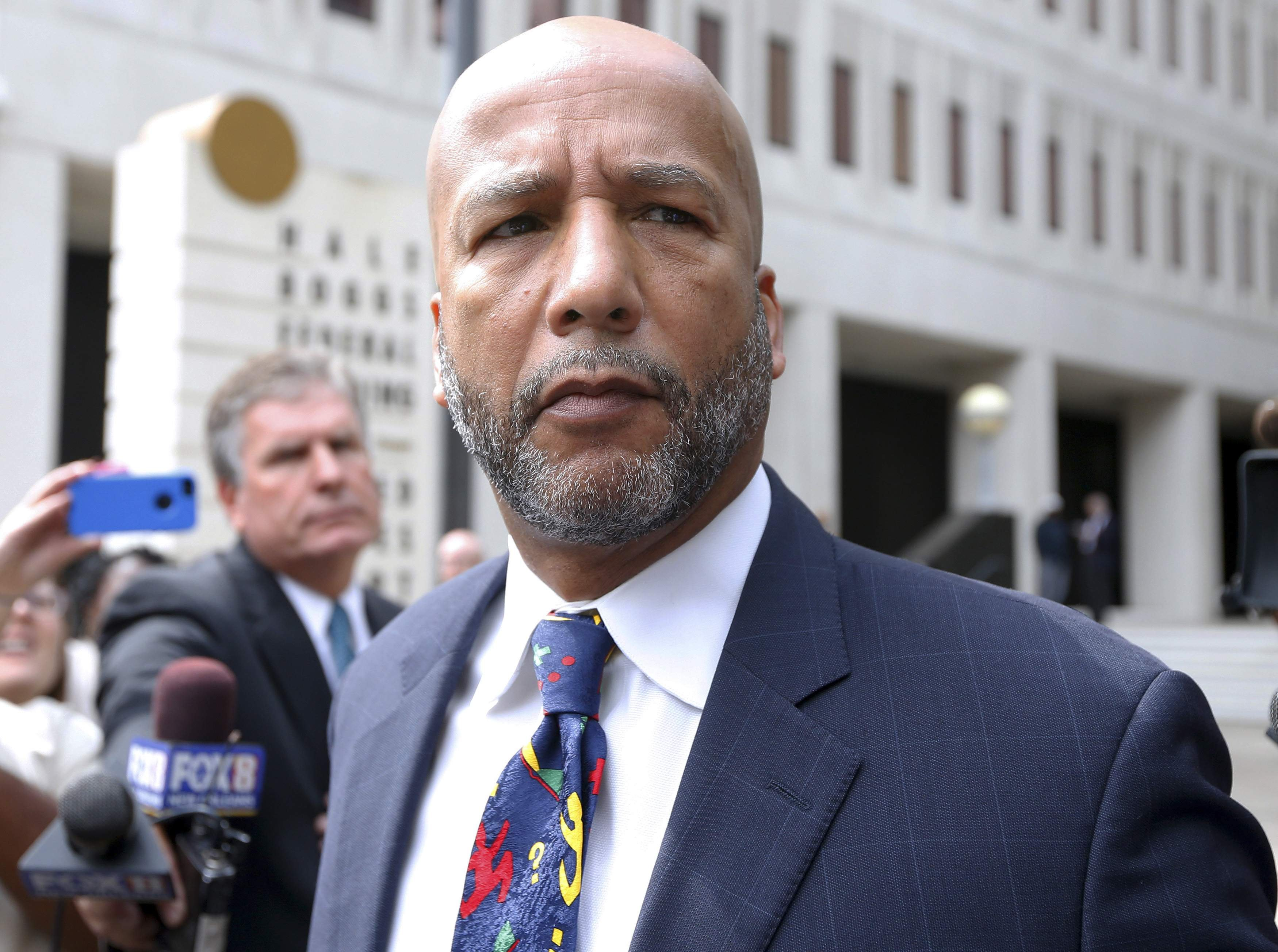 Former New Orleans Mayor C. Ray Nagin leaves court after being sentenced to 10 years in New Orleans, Louisiana July 9, 2014.