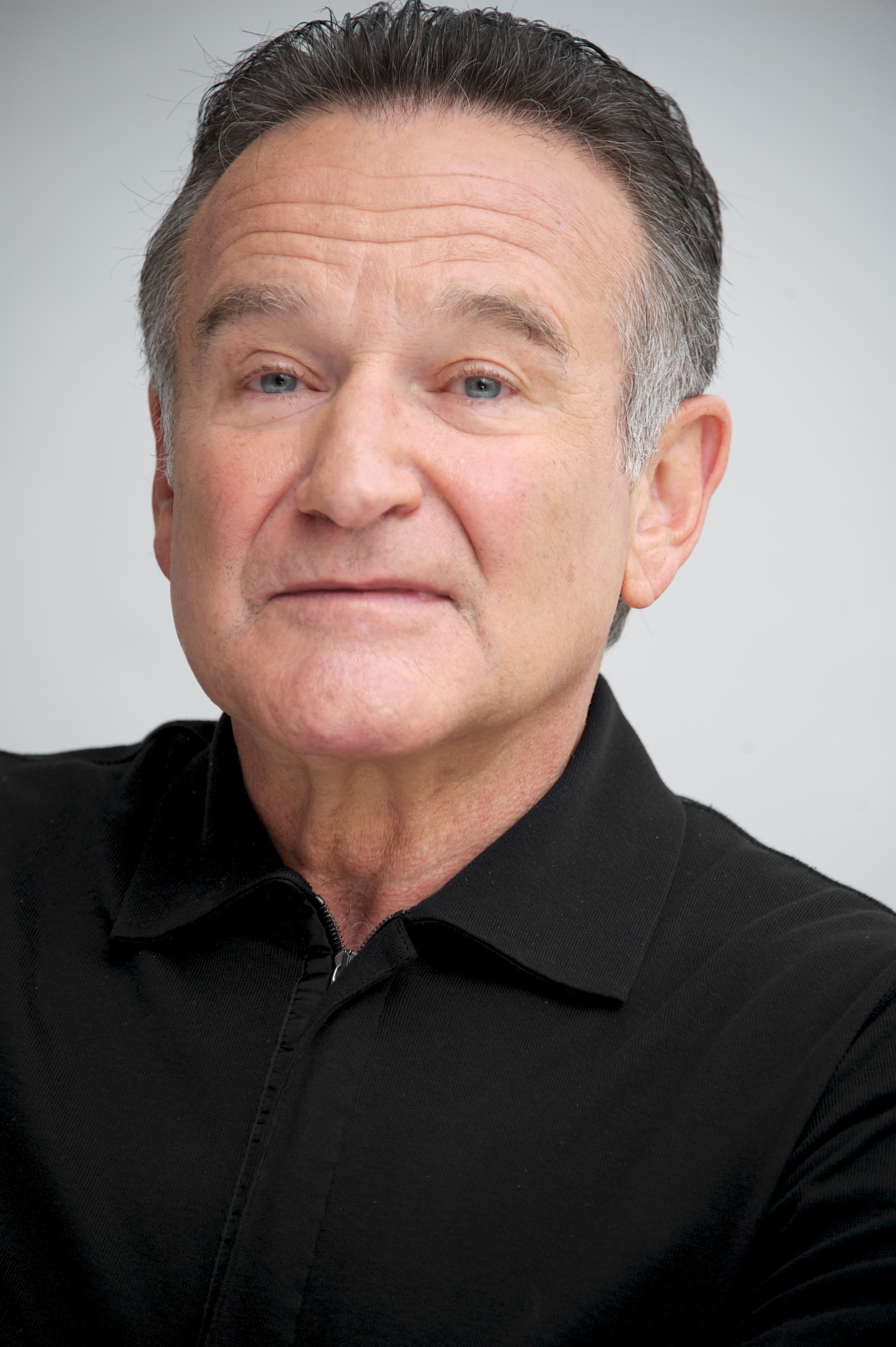 Robin Williams at  The Crazy Ones  Press Conference at the Four Seasons Hotel on October 8, 2013 in Beverly Hills, Calif.