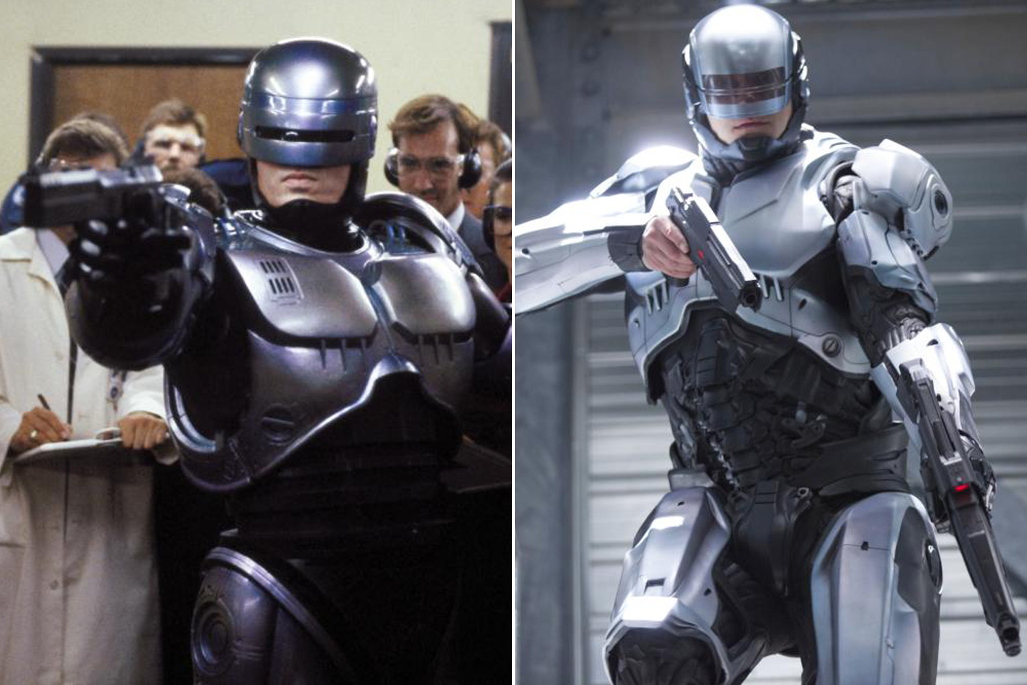 RoboCop first set its robot eyes on the criminals of Detroit in 1987 and was rebooted in 2014 in a film of the same name.
