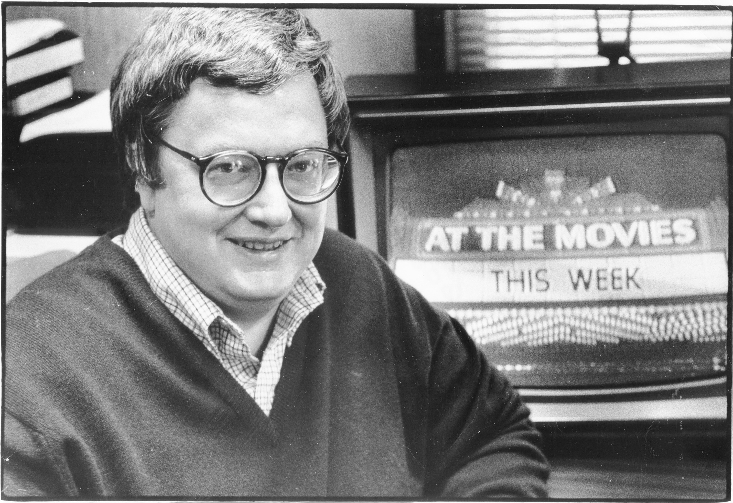 Roger Ebert, the Pulitzer Prize-winning movie critic for the Chicago Sun-Times.