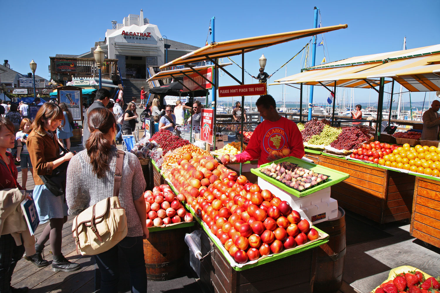 "San Francisco Bay Area, Calif. Best Place for Eating Right. The ""farm to table"" movement began here. The region's bounty of produce and year-round growing season make eating healthy—and local—a natural."