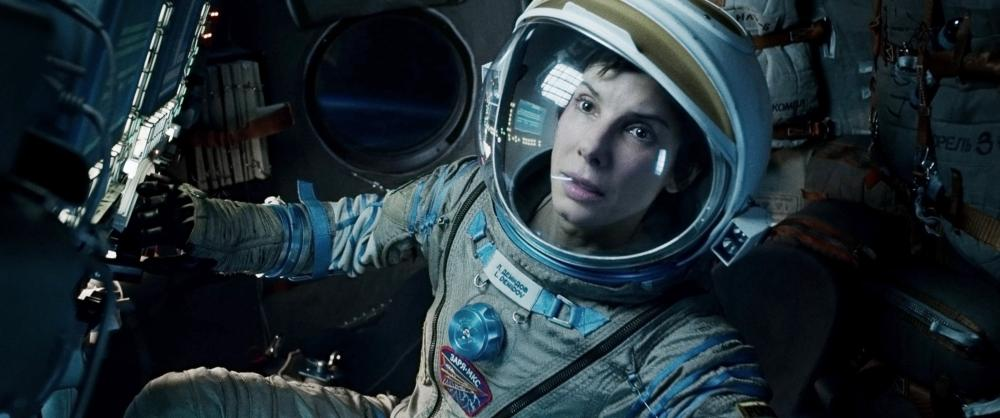 Sandra Bullock in 'Gravity.'