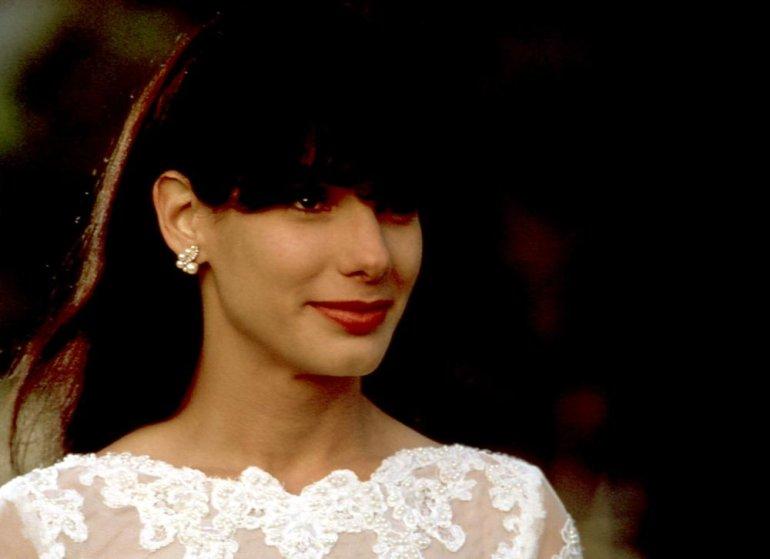 """Sandar Bullock in """"Love potion Number 9"""" in 1992."""