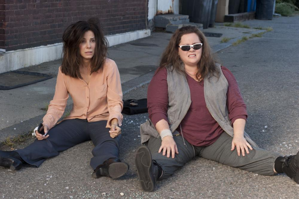 Bullock and Melissa McCarthy (right) played two polar-opposite law enforcement officers in 2013's  The Heat.  It became 2013's second-highest grossing comedy (after  We're the Millers ). Rumors of a sequel began to swirl even before the film's release.