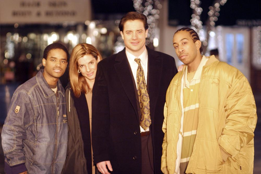 The 2005 film 'Crash' won six Oscars and the Screen Actors' Guild award for best cast—which included Bullock, Larenz Tate, Brenden Fraser, and Chris 'Ludacris' Bridges (pictured). For the best picture win, 'Crash' beat out possibly the most critically acclaimed film of the year, 'Brokeback Mountain.'
