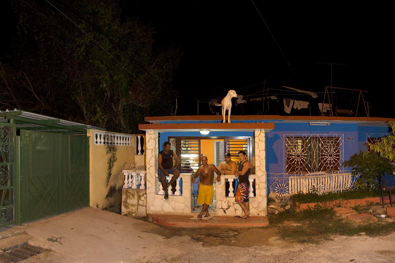 Sasha on the Roof, Varadero Cuba, 2013