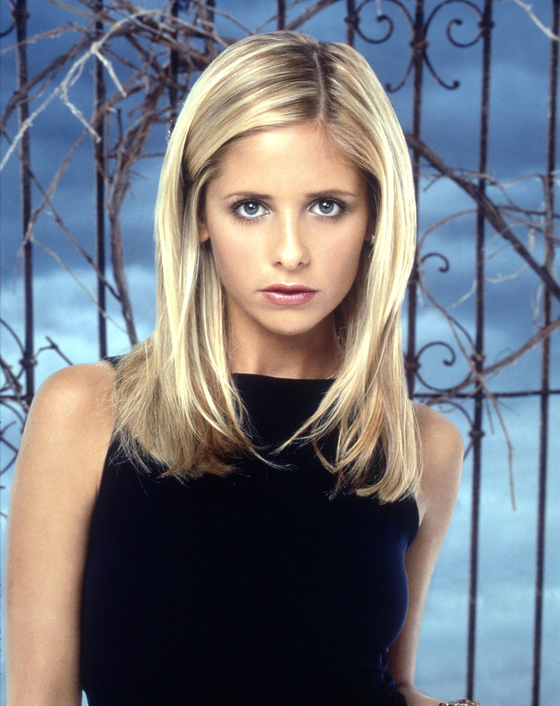 Sarah Michelle Gellar Stars In  Buffy The Vampire Slayer.