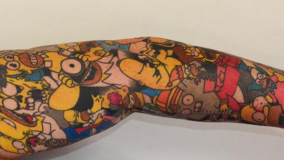 Lee Weir's Homer sleeve