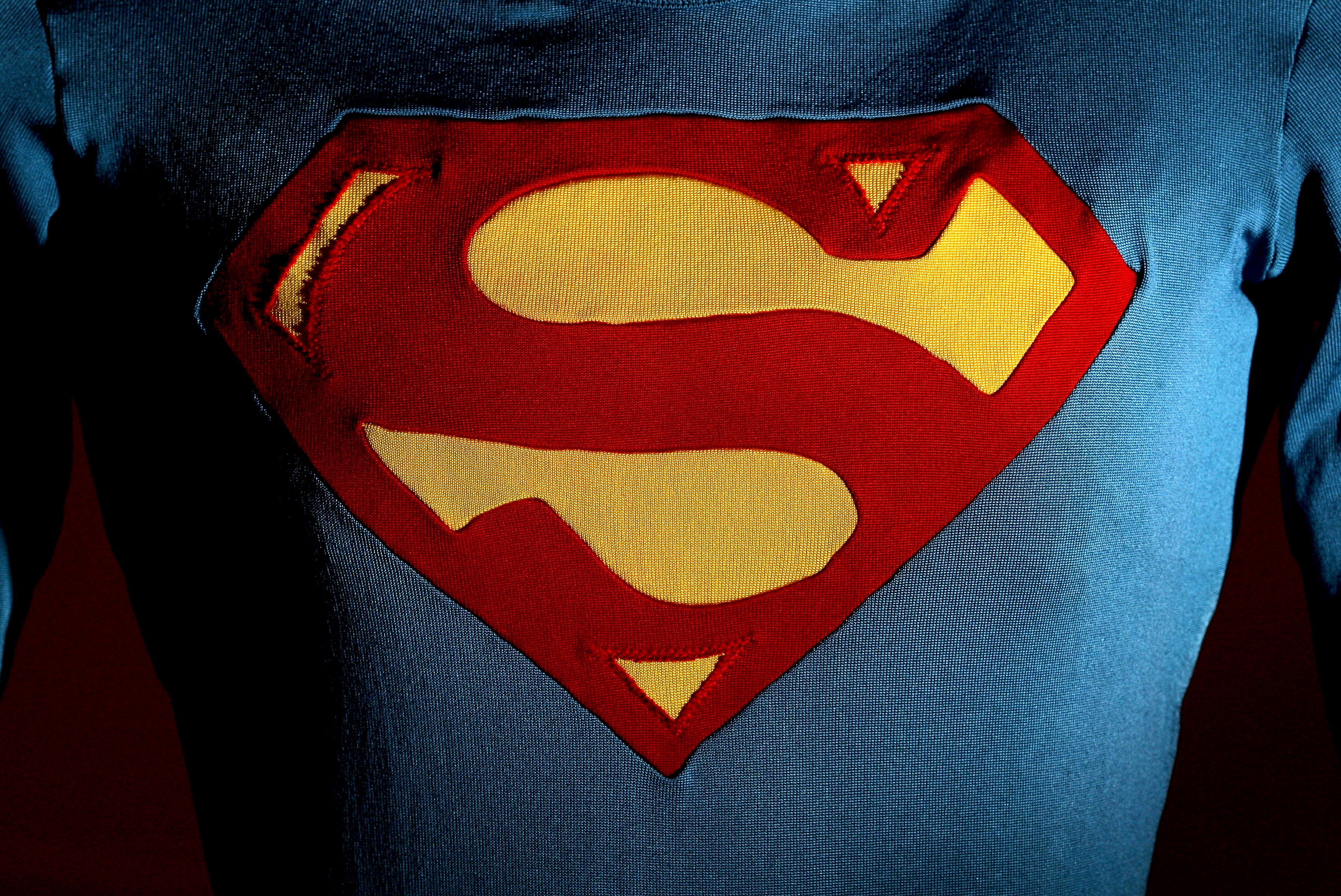 The Superman costume as worn by Christopher Reeve in Superman III is displayed at the Auction House of Bonhams and Goodman on May 23, 2009 in Melbourne, Australia.
