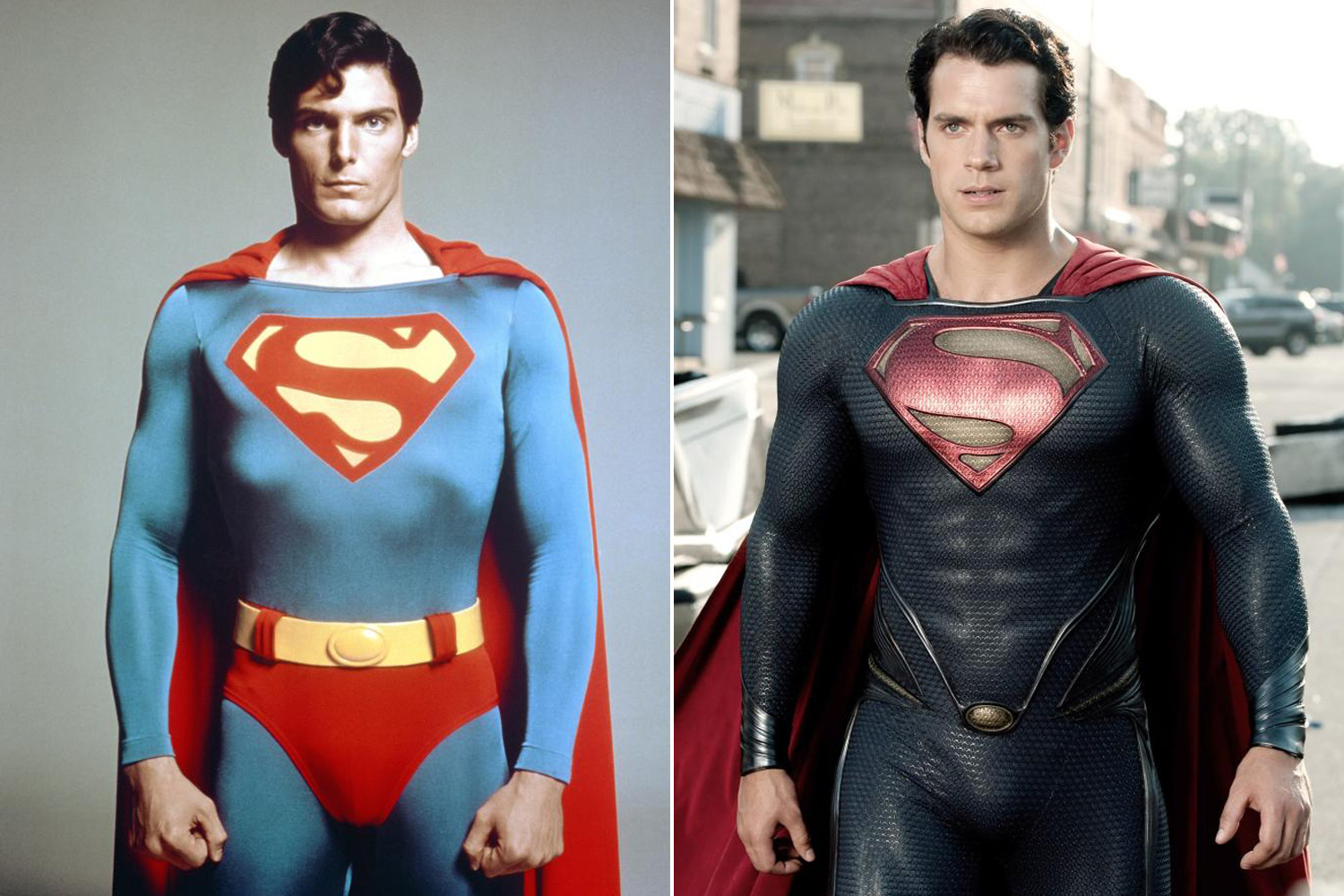 Christopher Reeve was the first to portray the iconic DC comics superhero on the big screen in the 1989 film <i>Superman</i>. The film franchise would be rebooted first in 2006 with <i>Superman Returns</i> by Bryan Singer, before being re-rebooted in Zack Snyder's 2013 film <i>Man of Steel</i> starring Henry Cavill as Superman.