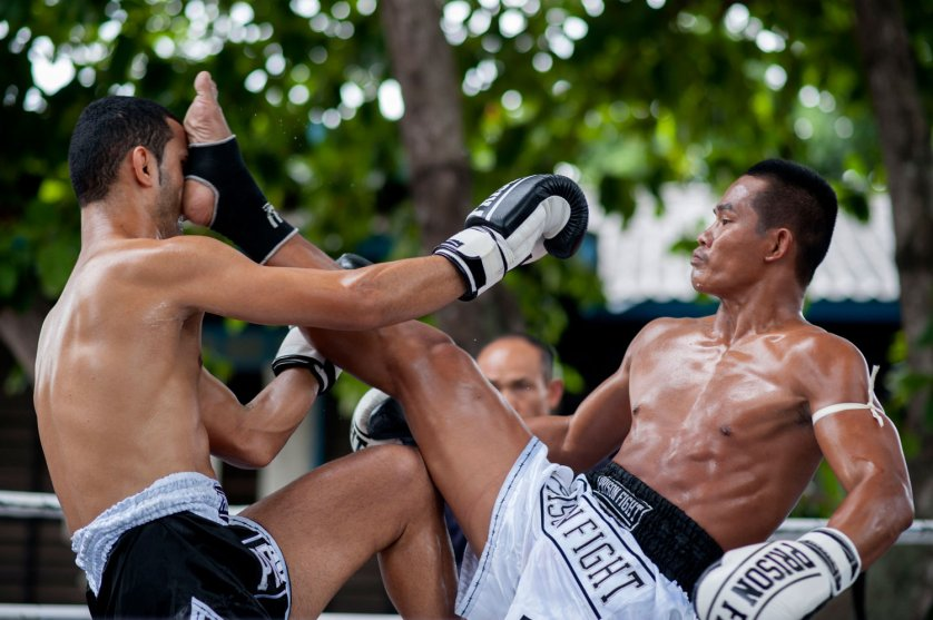 Inmates And Foreigners Compete In Thailand's Prison Fight