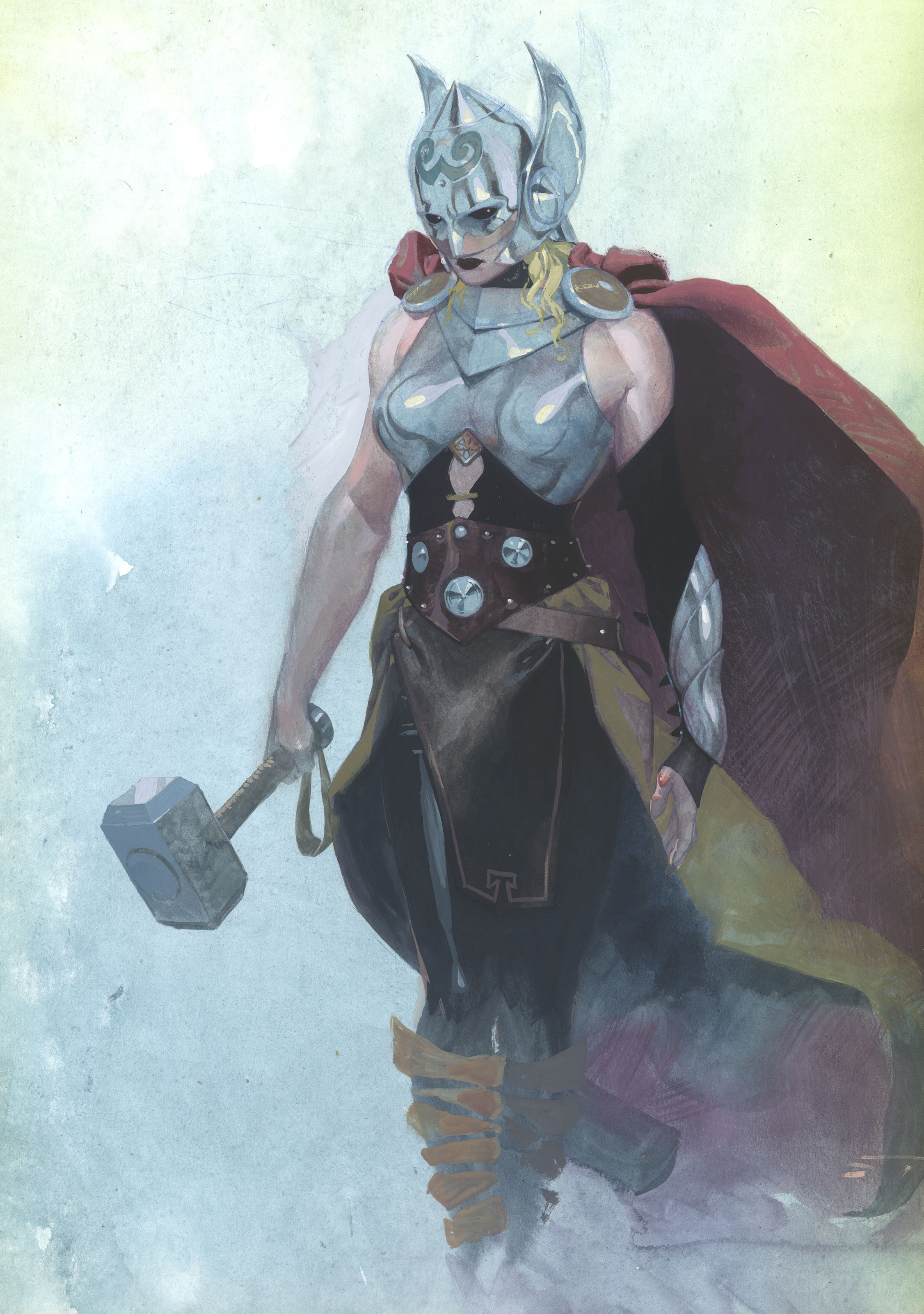 Thor concept art on July 15, 2014.