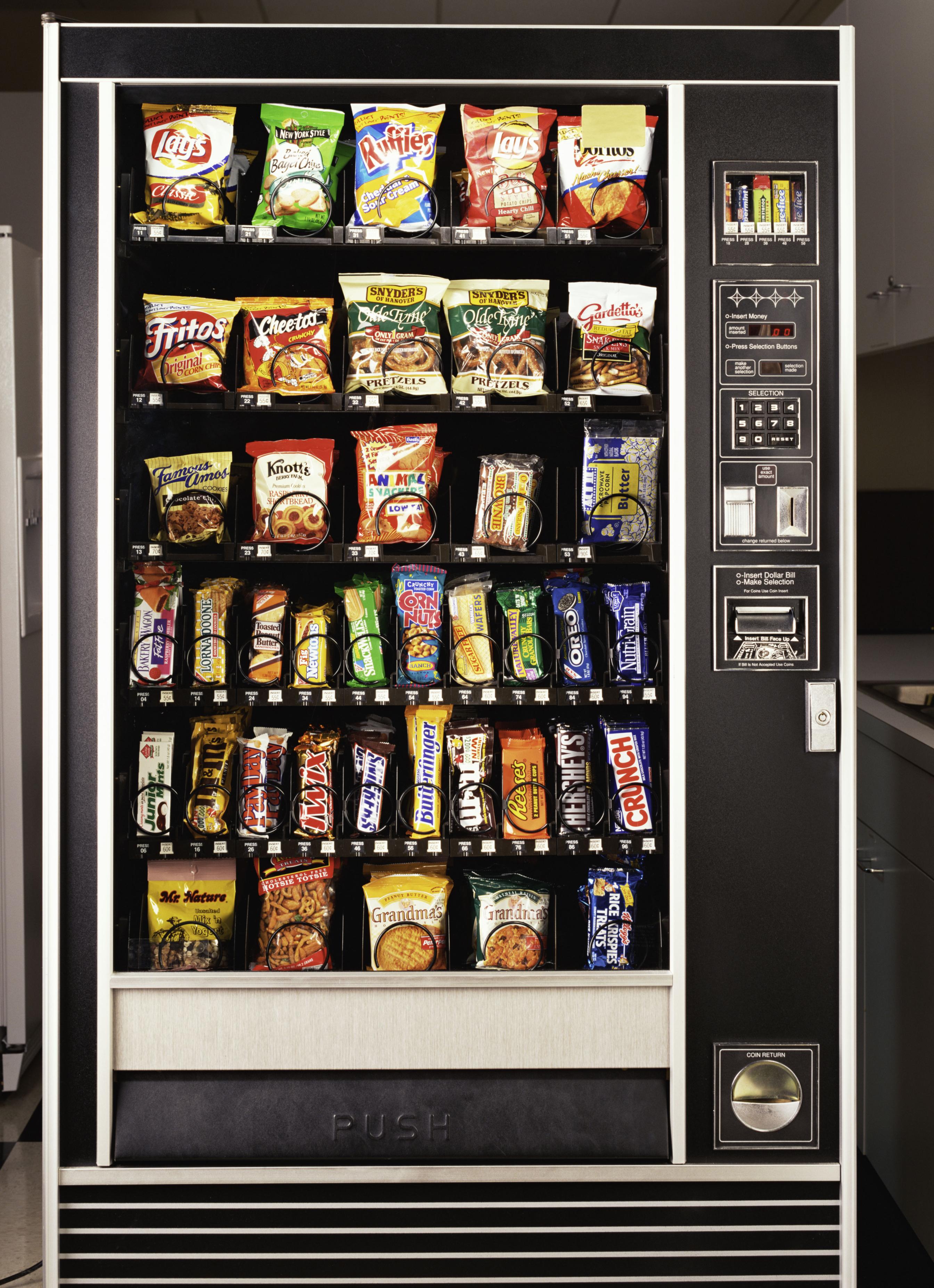 Snackautomaten Hacken