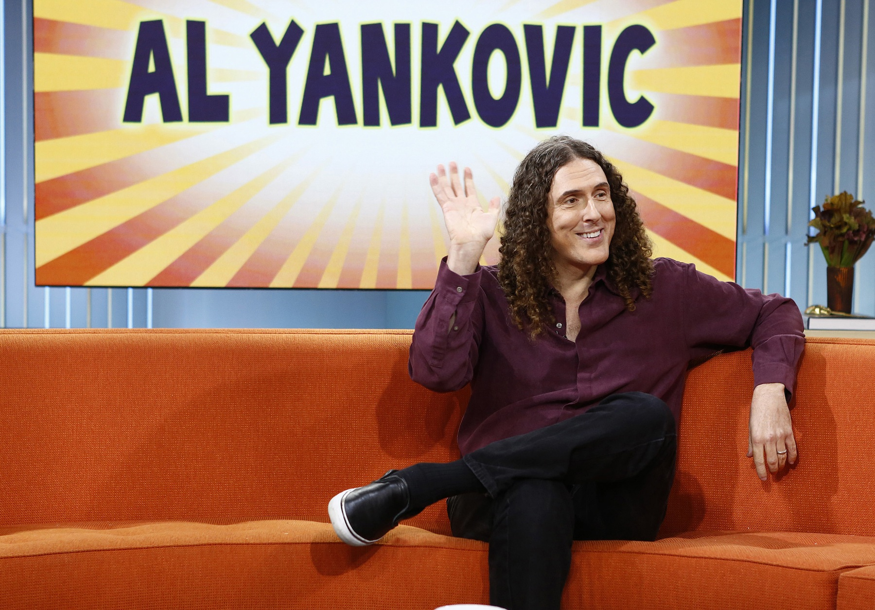 Weird Al  Yankovic appears on NBC News'  Today  show on Sept. 26, 2013
