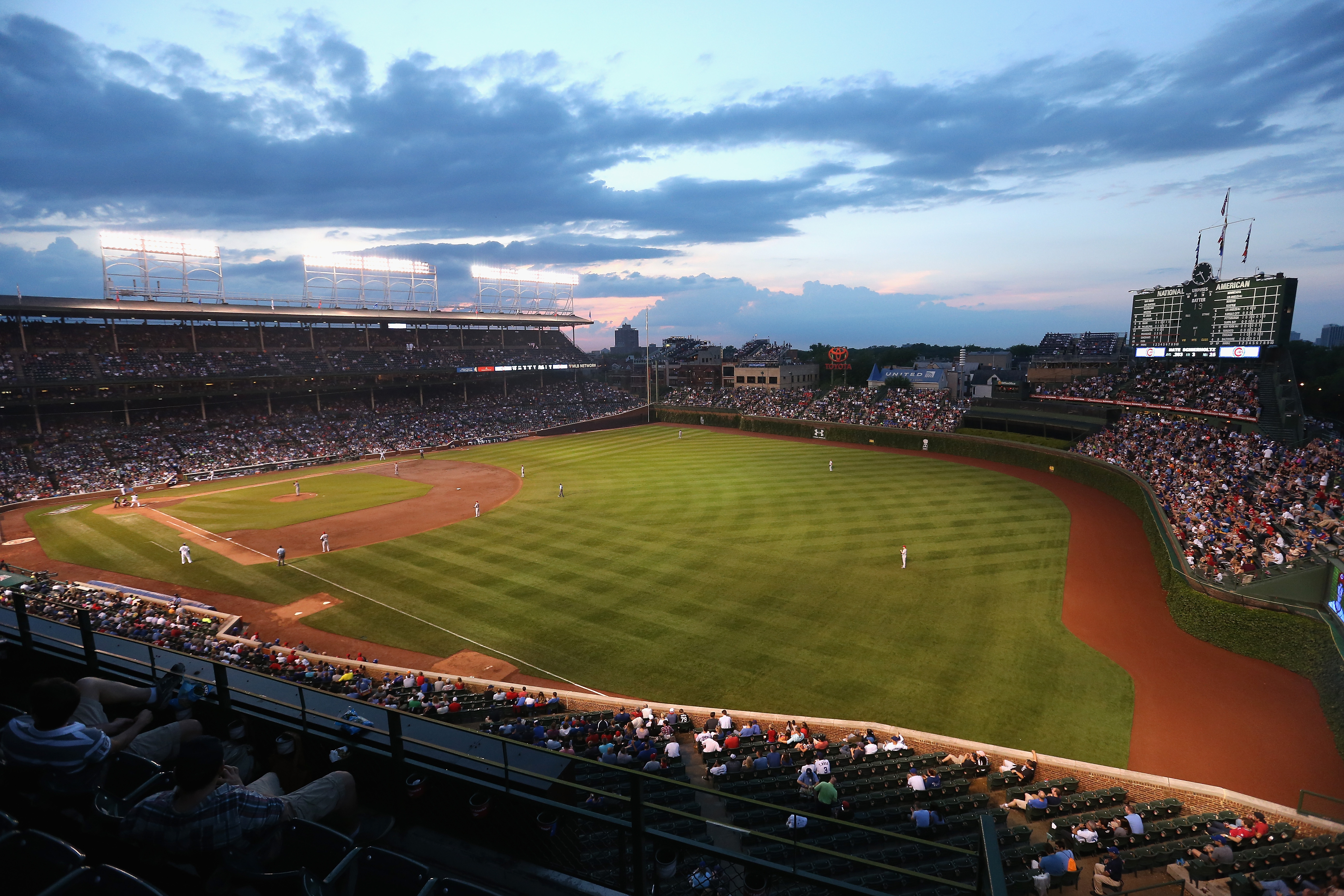 Chicago's landmarks commission unanimously approved a multimillion-dollar renovation  July 10 of Wrigley Field, home of baseball's Chicago Cubs.
