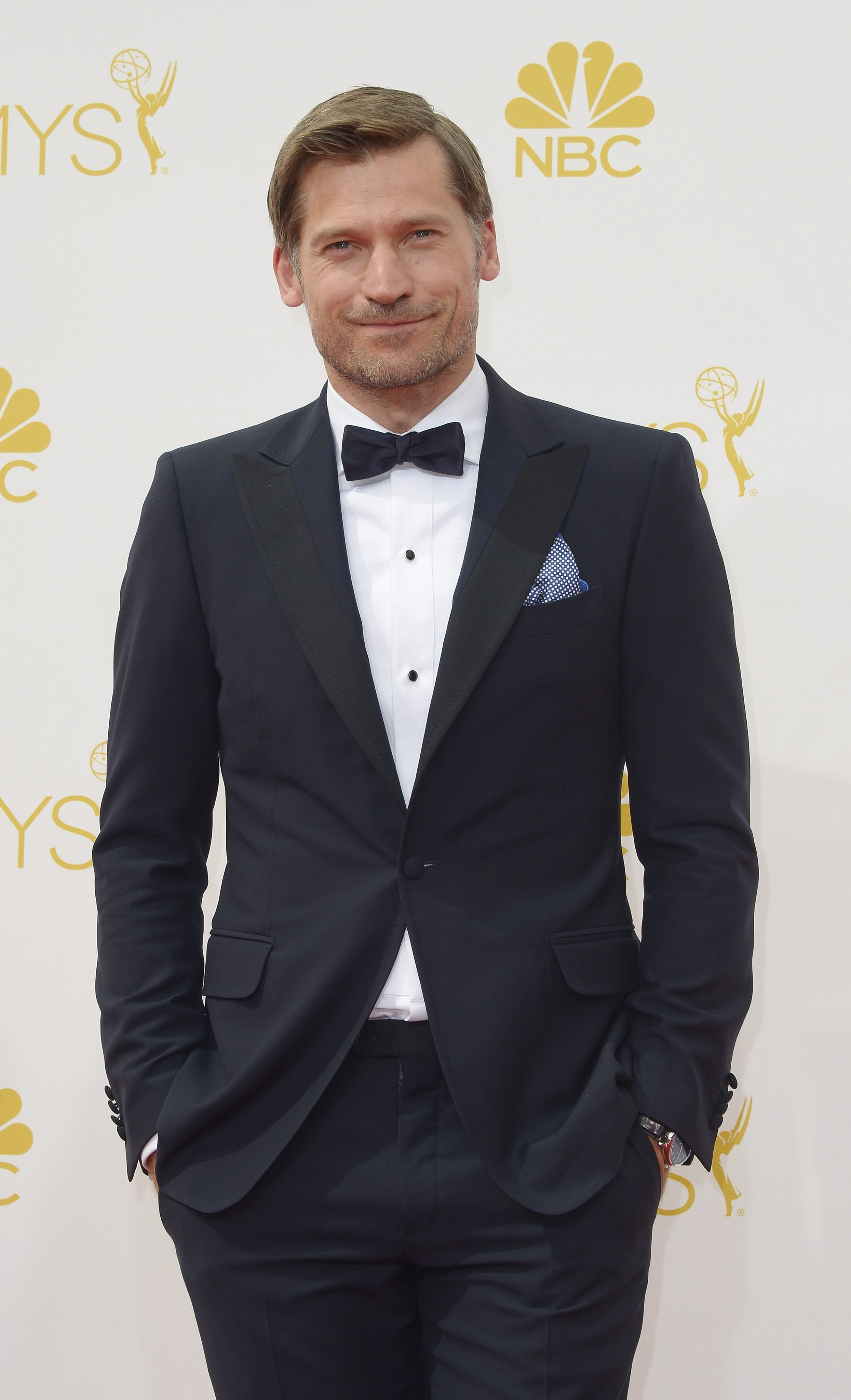 Nikolaj Coster-Waldau arrives for the 66th annual Primetime Emmy Awards held at the Nokia Theatre in Los Angeles, California, USA, August 25, 2014.