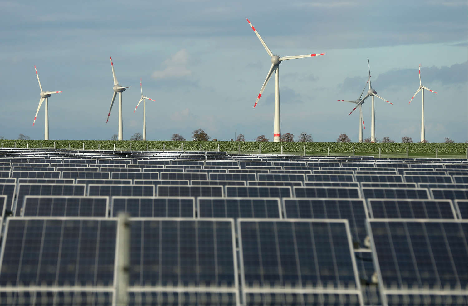Germany has become a world leader in solar power