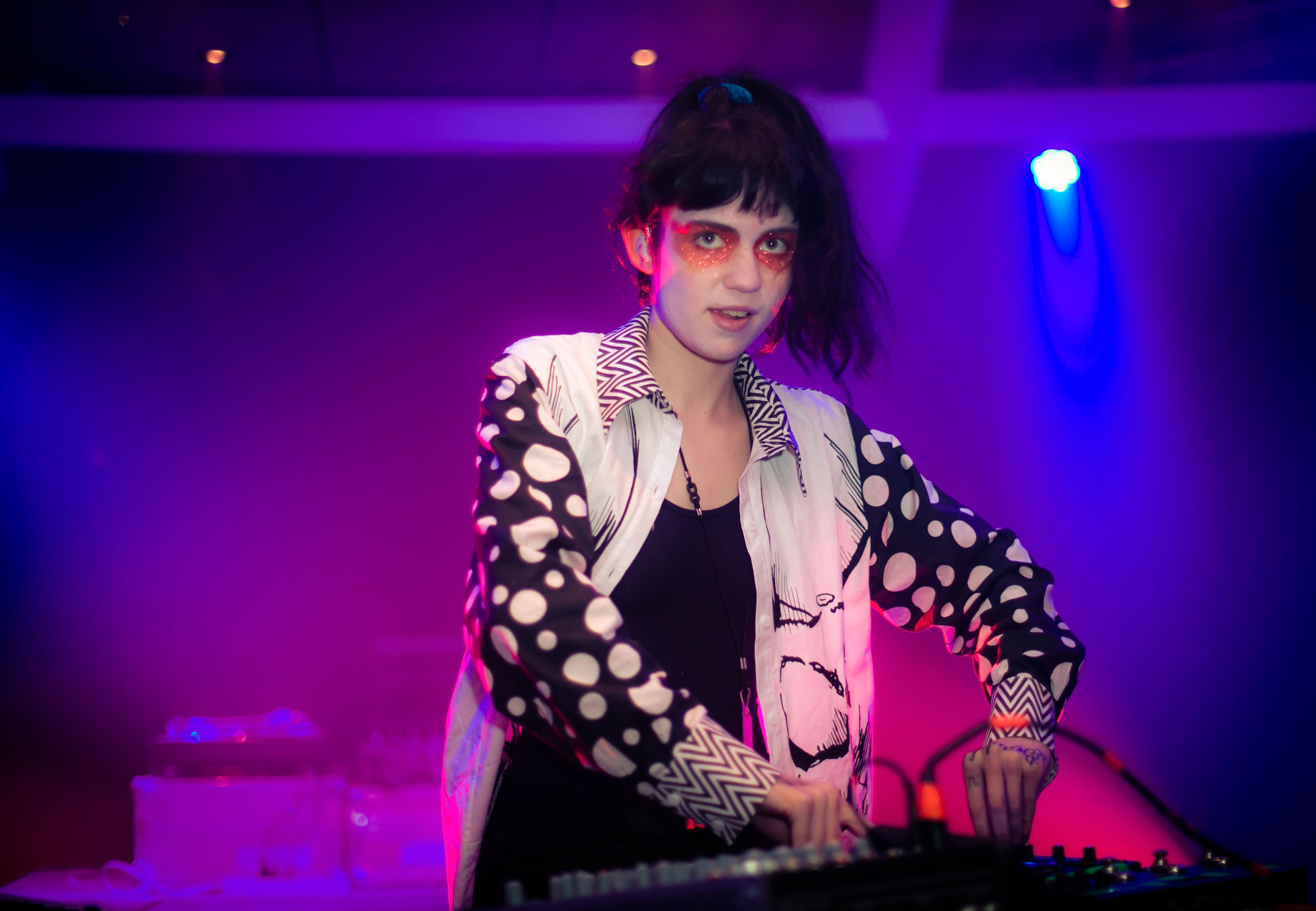 Grimes performs at S.S. Coachella  Music Festival At Sea  - Bahamas - Day 3 - December 18, 2012 in Nassau, Bahamas.