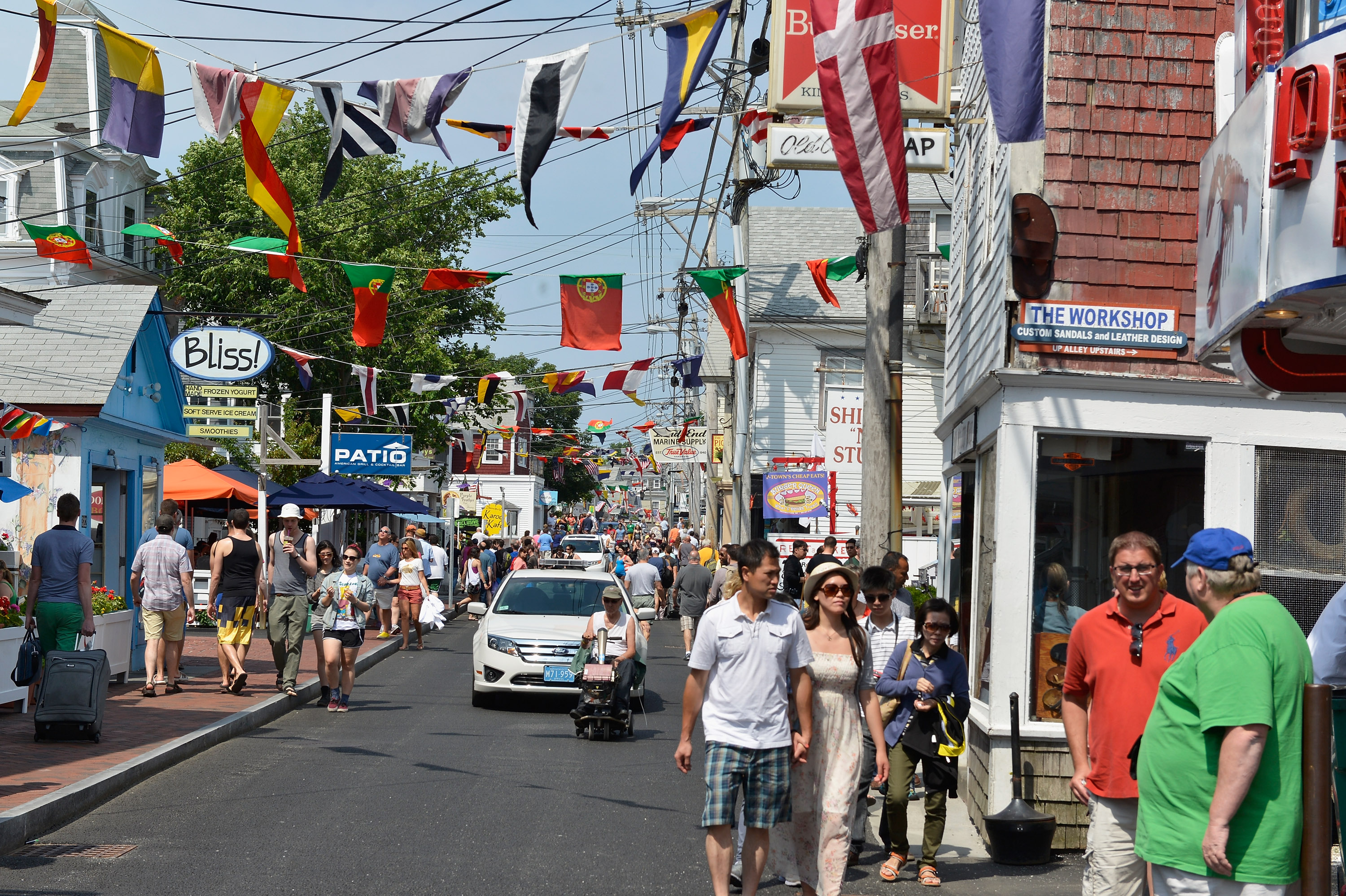 A general view of Provincetown on June 22, 2013.