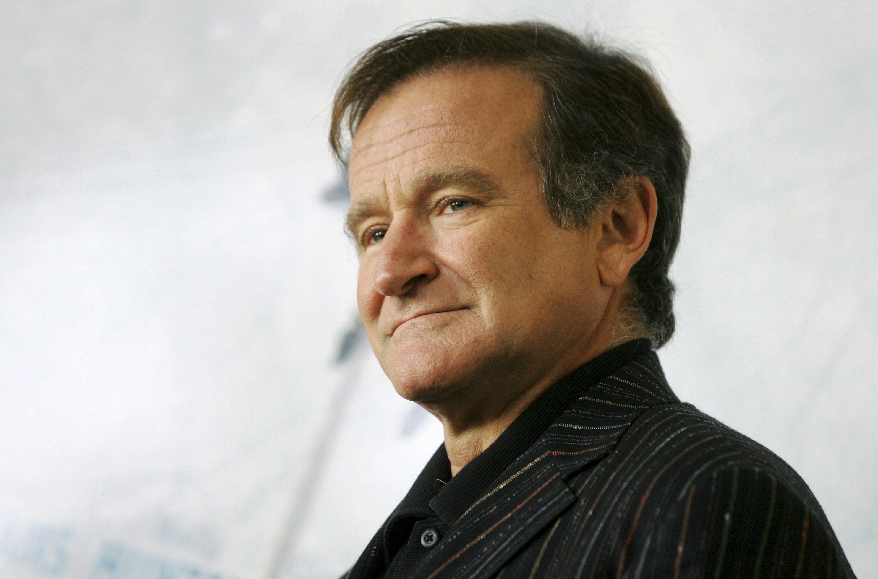 U.S. actor Robin Williams posing for photographers during a photo-call in Rome on Nov. 15, 2005.