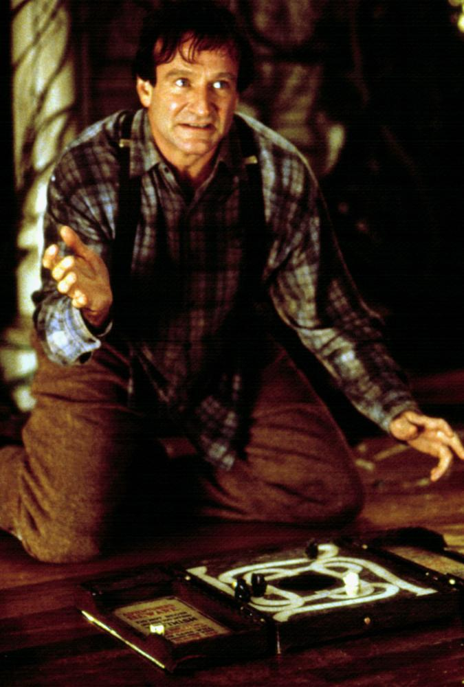 Williams starred as Alan Parrish, a boy stuck inside a board game for twenty-six years in the 1995 film <i>Jumanji</i>.
