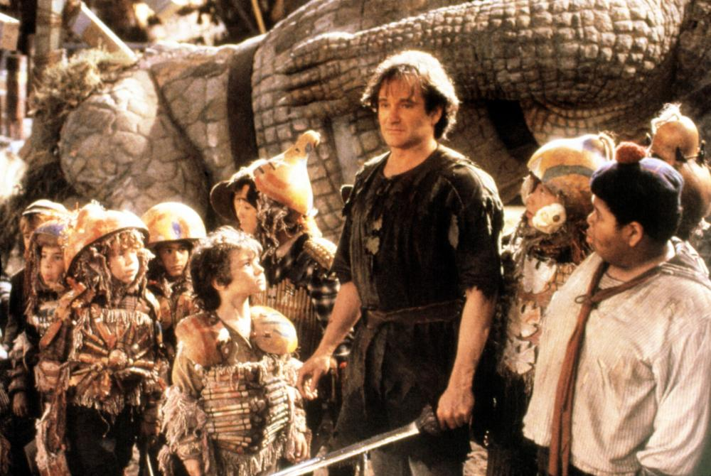 Williams played a grown up version of Peter Pan in the 1991 family classic <i>Hook</i>.