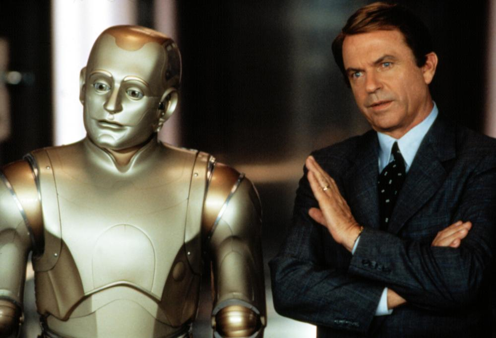 Williams played a living android in the 1999 film <i>Bicentennial Man</i>.