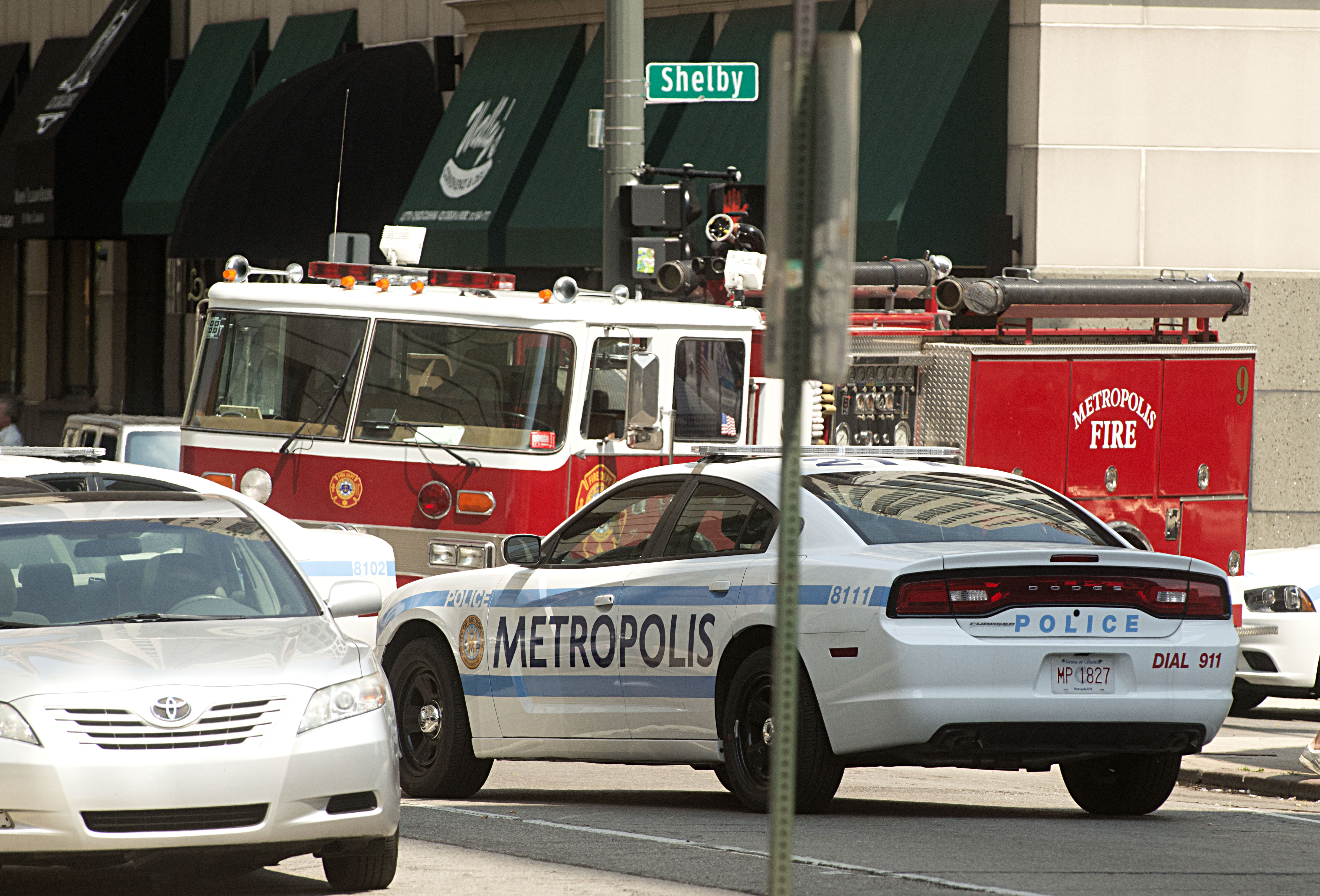 Detroit serves as the backdrop for Superman's fictional city of Metropolis.