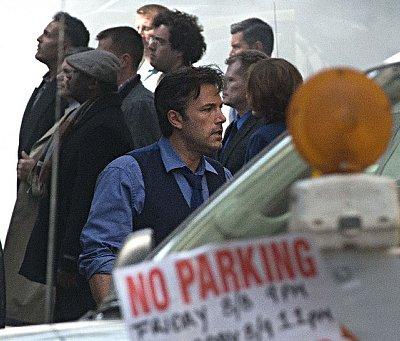 A closer look at Affleck's rendition of Bruce Wayne.