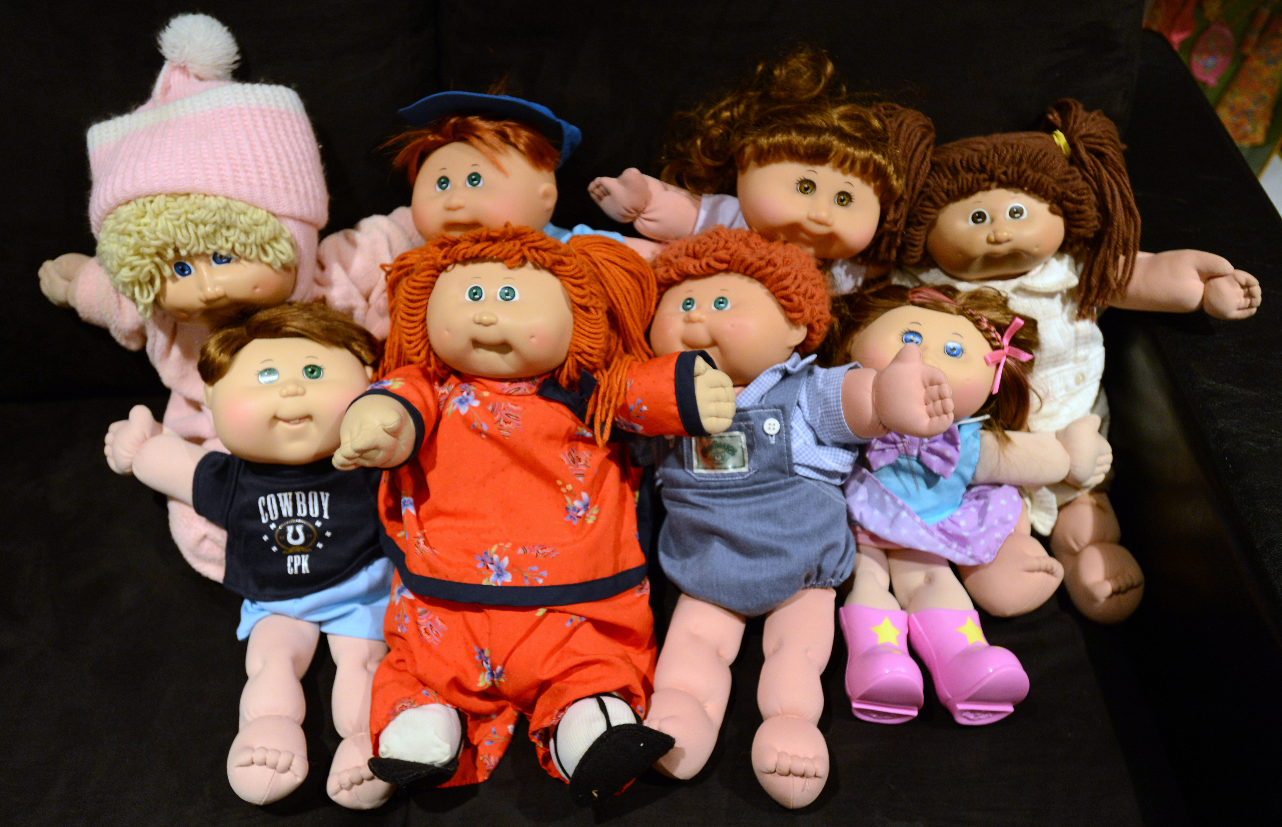 Cabbage Patch dolls