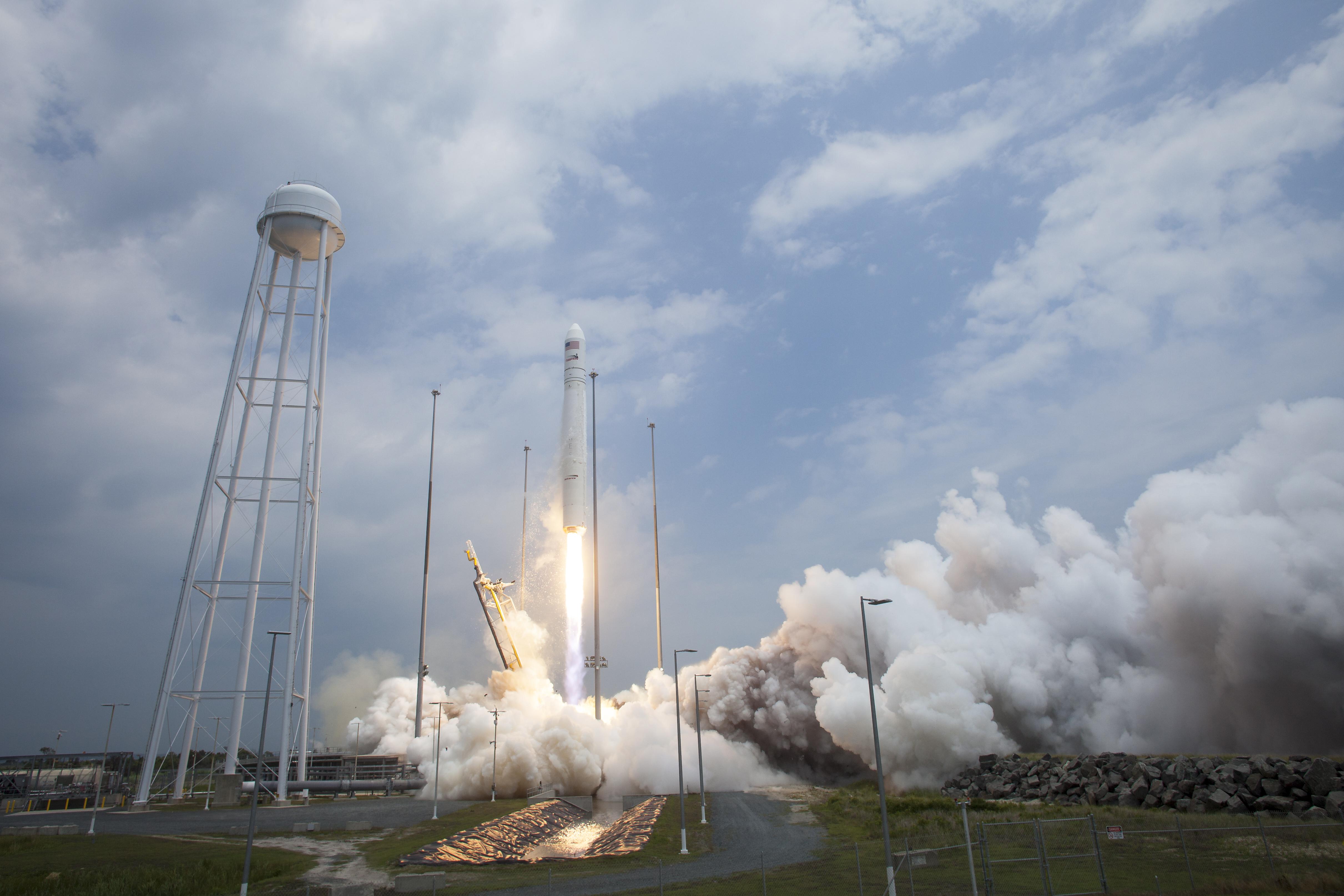 A NASA rocket.