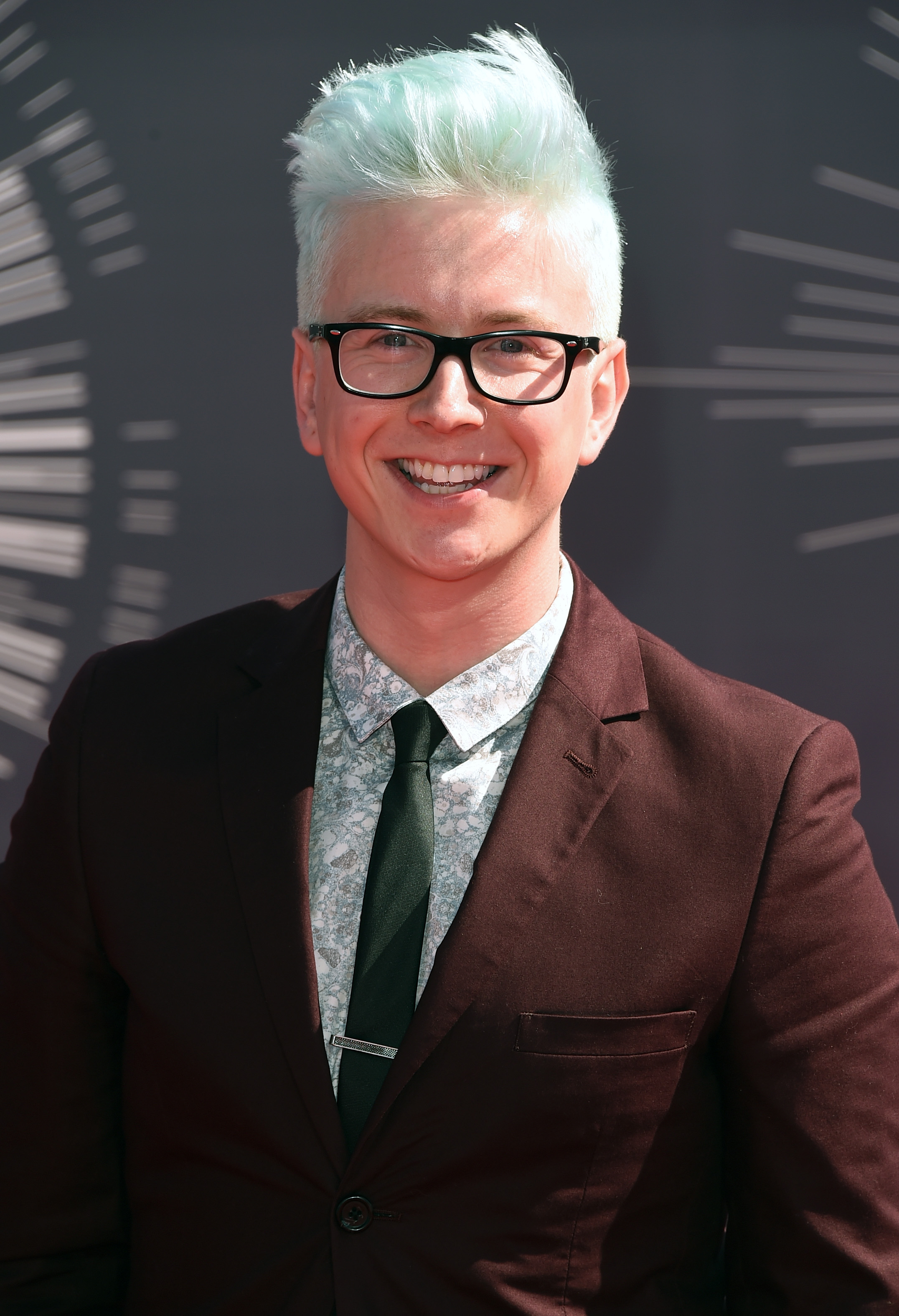 Tyler Oakley attends the 2014 MTV Video Music Awards at The Forum on August 24, 2014 in Inglewood, California.