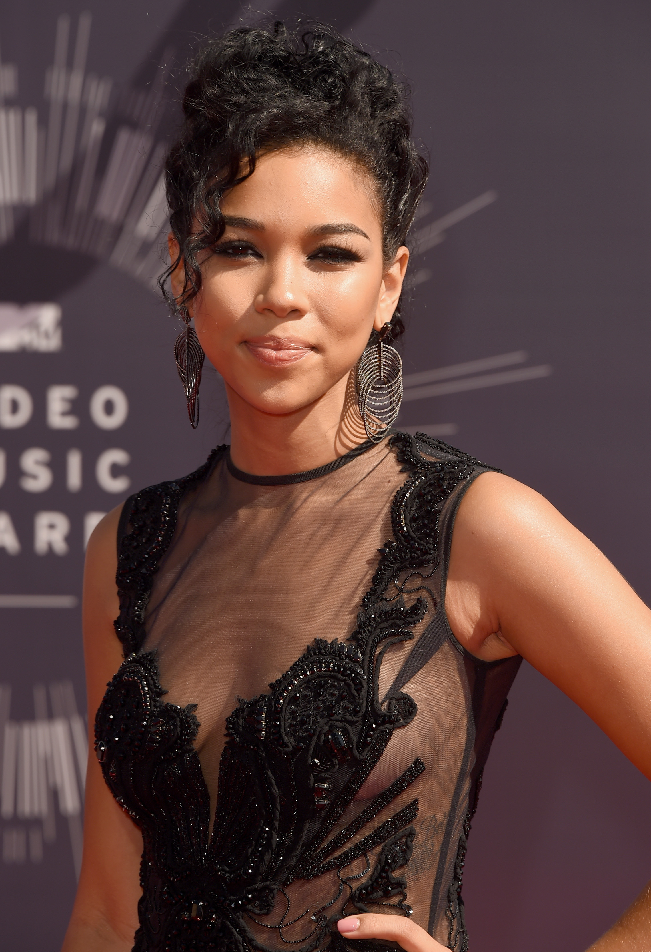 Alexandra Shipp attends the 2014 MTV Video Music Awards at The Forum on August 24, 2014 in Inglewood, California.