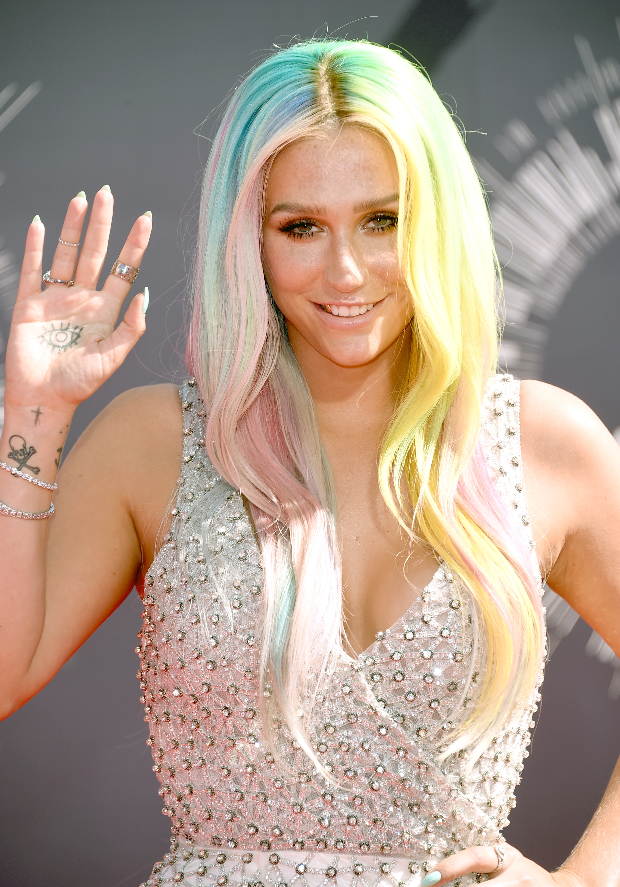 Ke$ha attends the 2014 MTV Video Music Awards at The Forum on August 24, 2014 in Inglewood, California.
