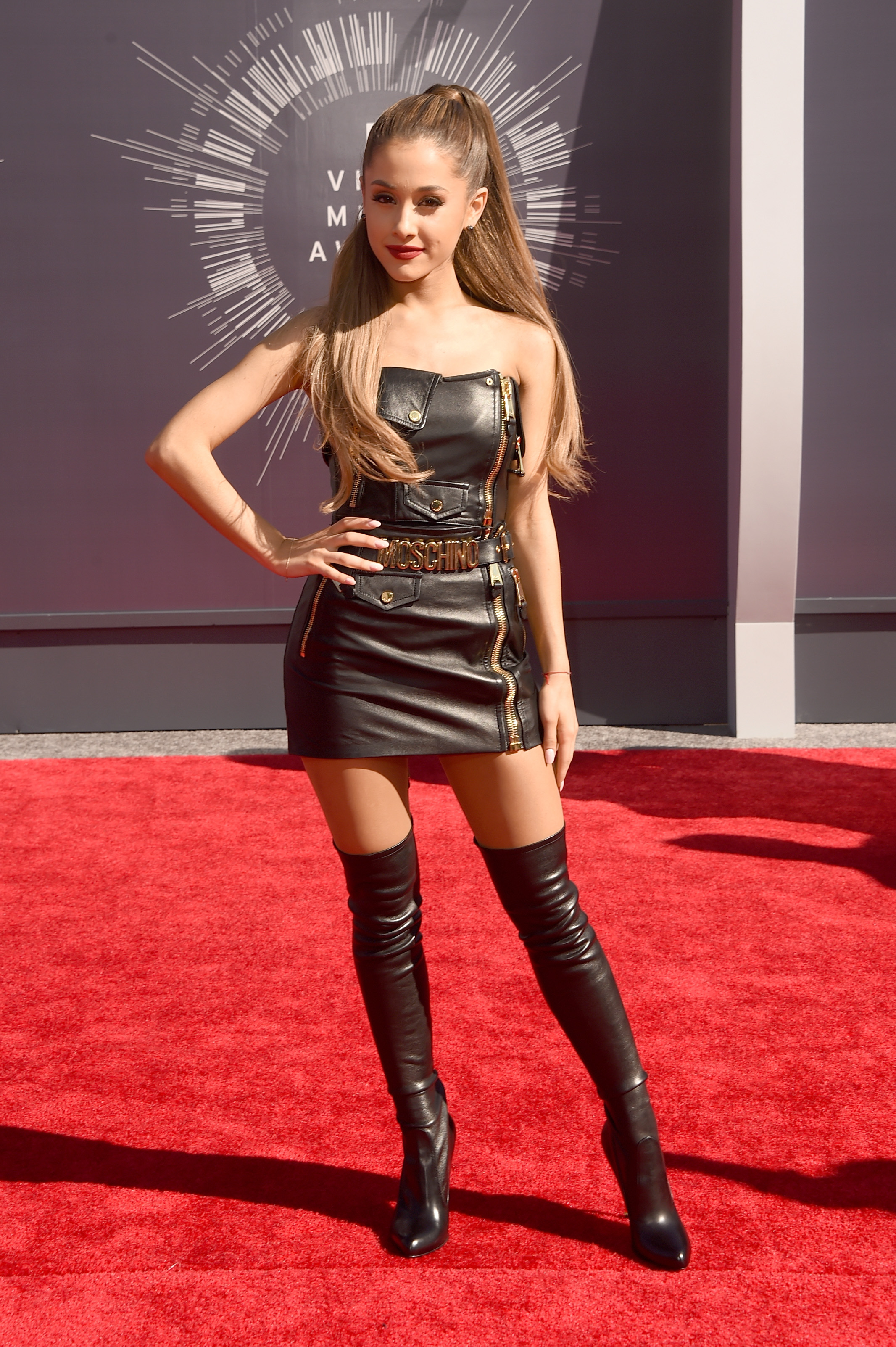 Ariana Grande attends the 2014 MTV Video Music Awards at The Forum on August 24, 2014 in Inglewood, California.