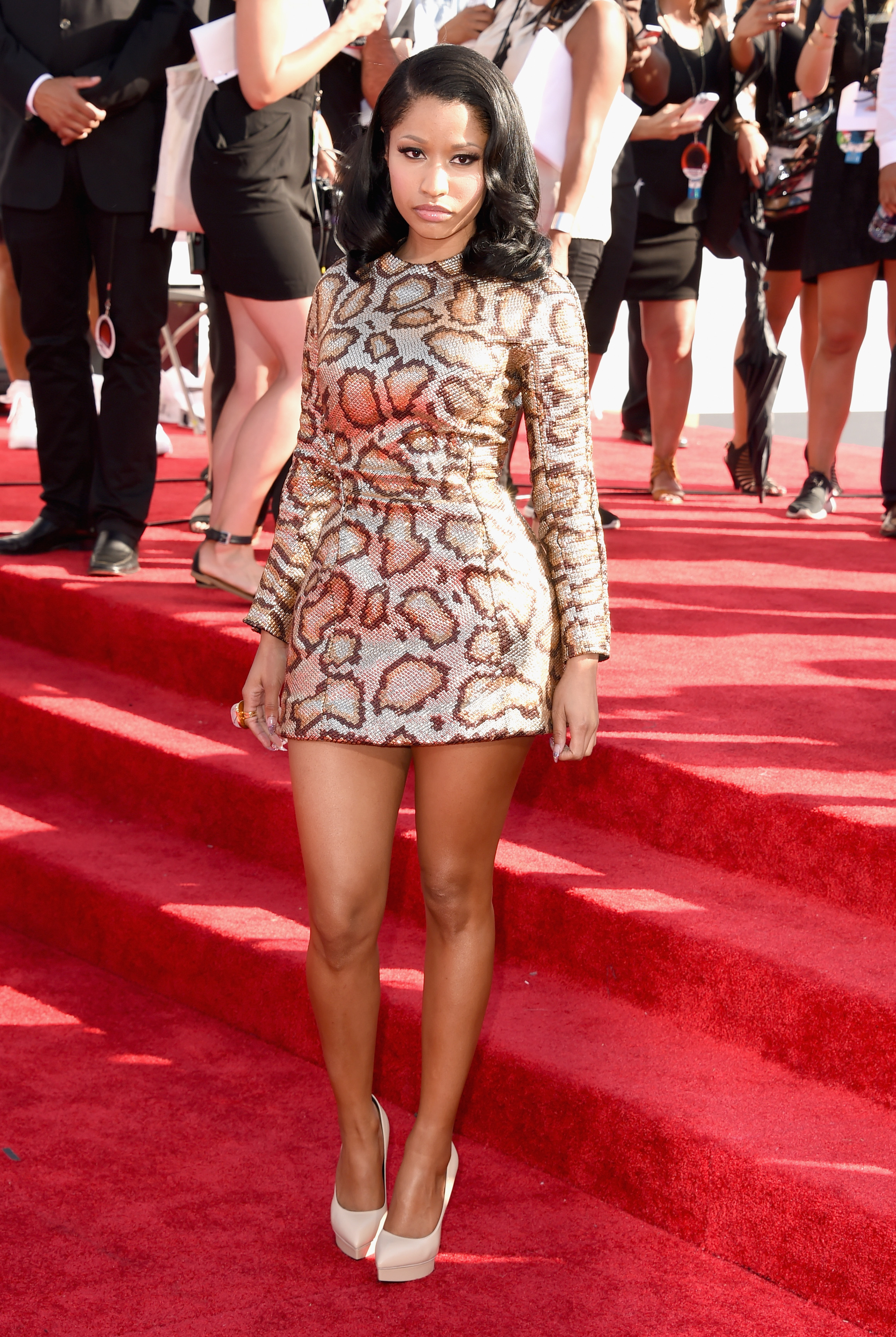 Nicki Minaj attends the 2014 MTV Video Music Awards at The Forum on August 24, 2014 in Inglewood, California.