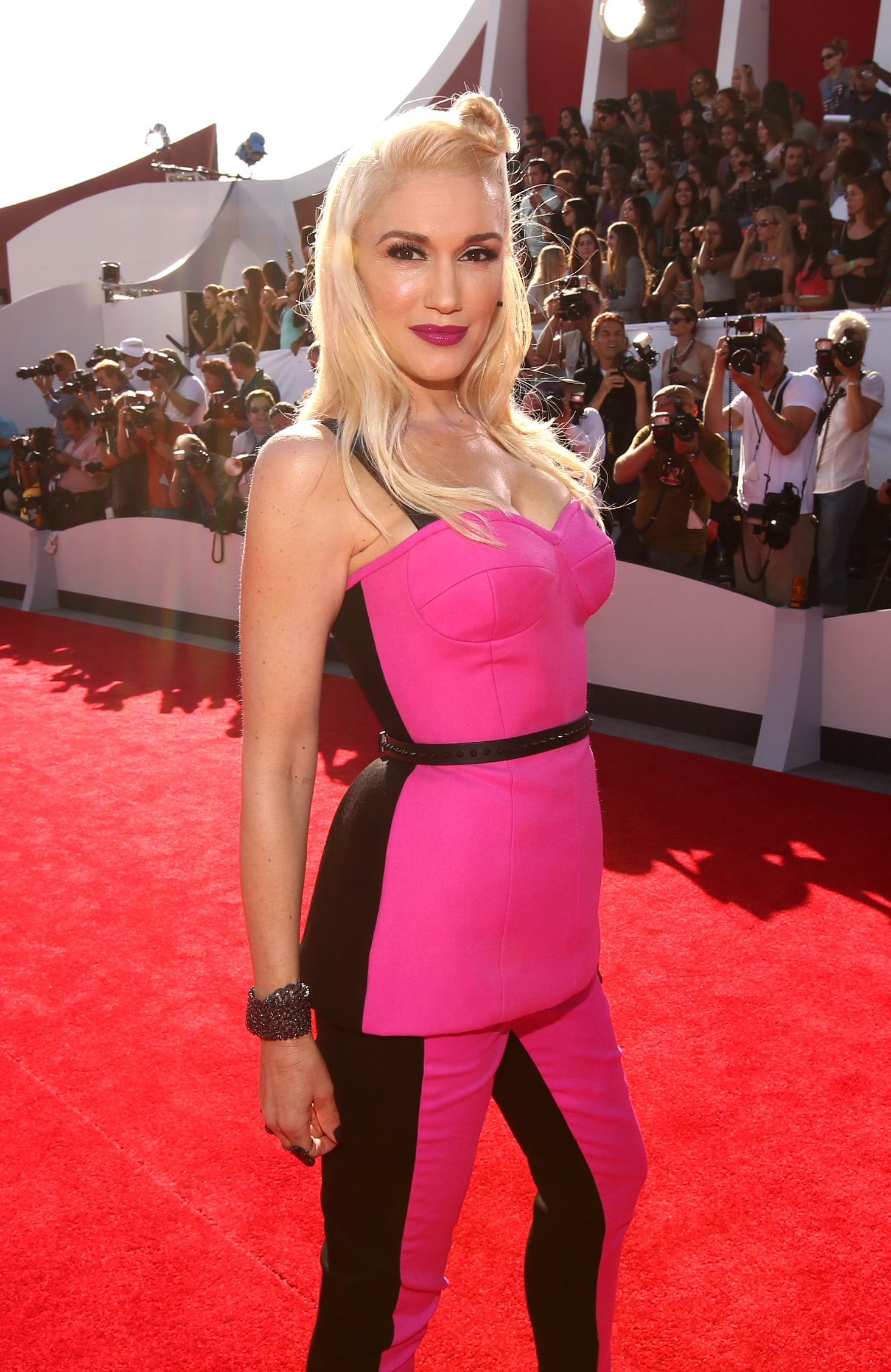 Gwen Stefani attends the 2014 MTV Video Music Awards at The Forum on August 24, 2014 in Inglewood, California.