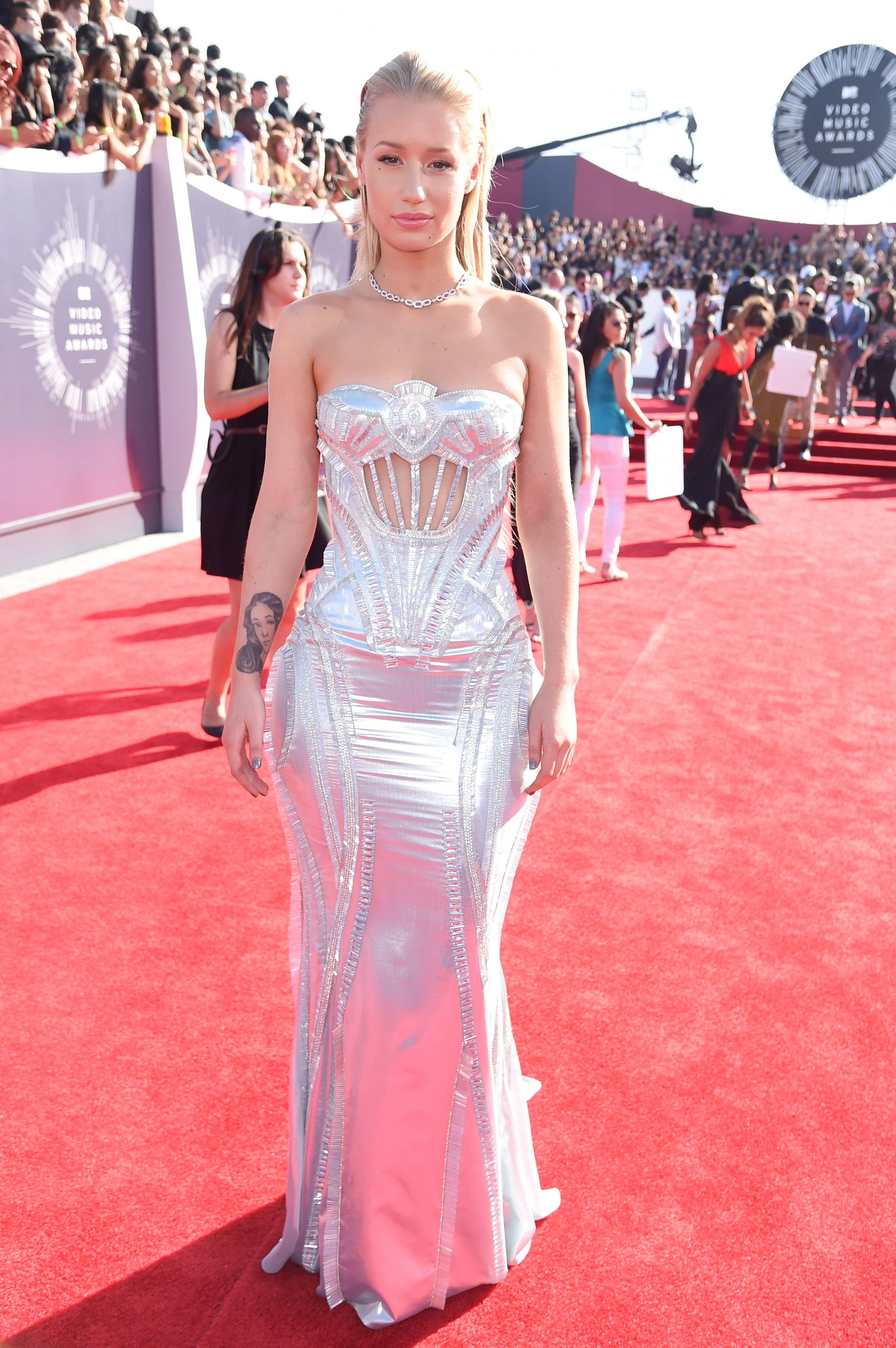 Iggy Azalea attends the 2014 MTV Video Music Awards at The Forum on August 24, 2014 in Inglewood, California.