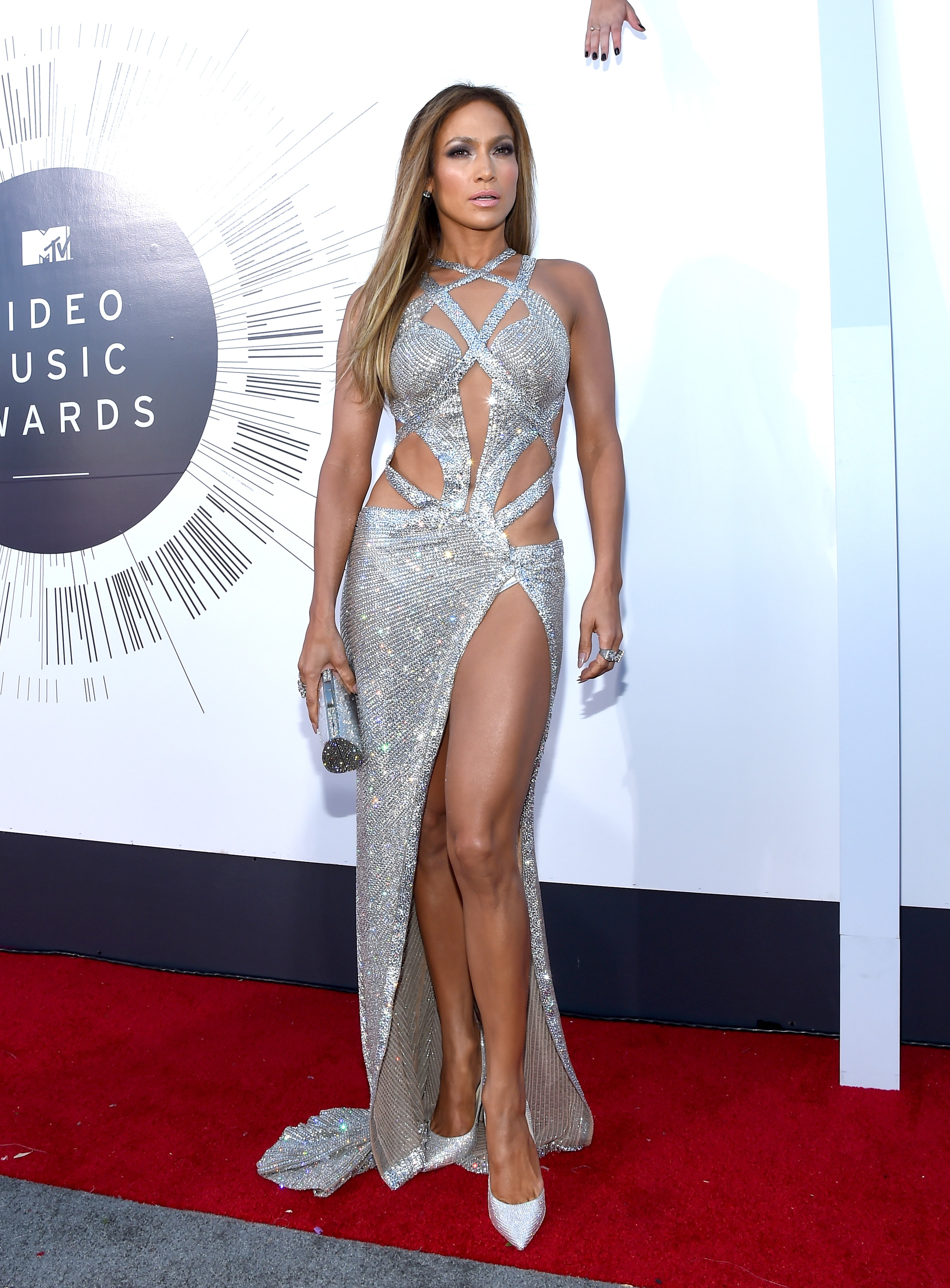 Jennifer Lopez attends the 2014 MTV Video Music Awards at The Forum on August 24, 2014 in Inglewood, California.