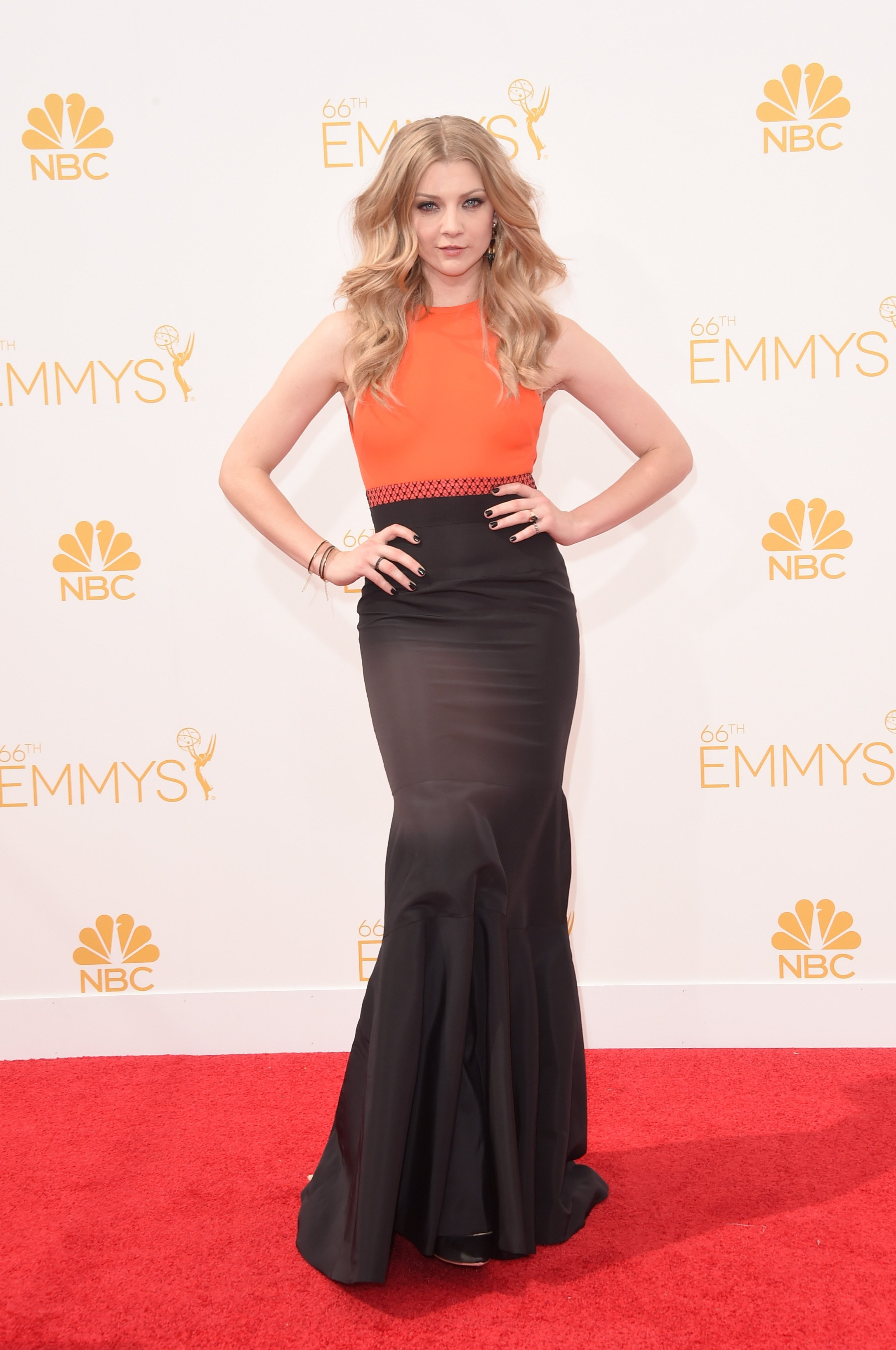Natalie Dormer attends the 66th Annual Primetime Emmy Awards held at Nokia Theatre L.A. Live on August 25, 2014 in Los Angeles, California.
